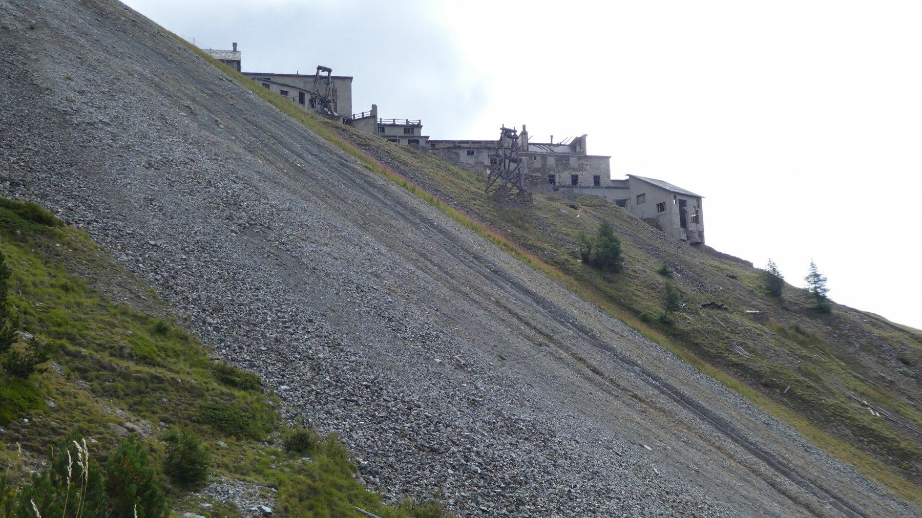 arrivando alle miniere di Colonna