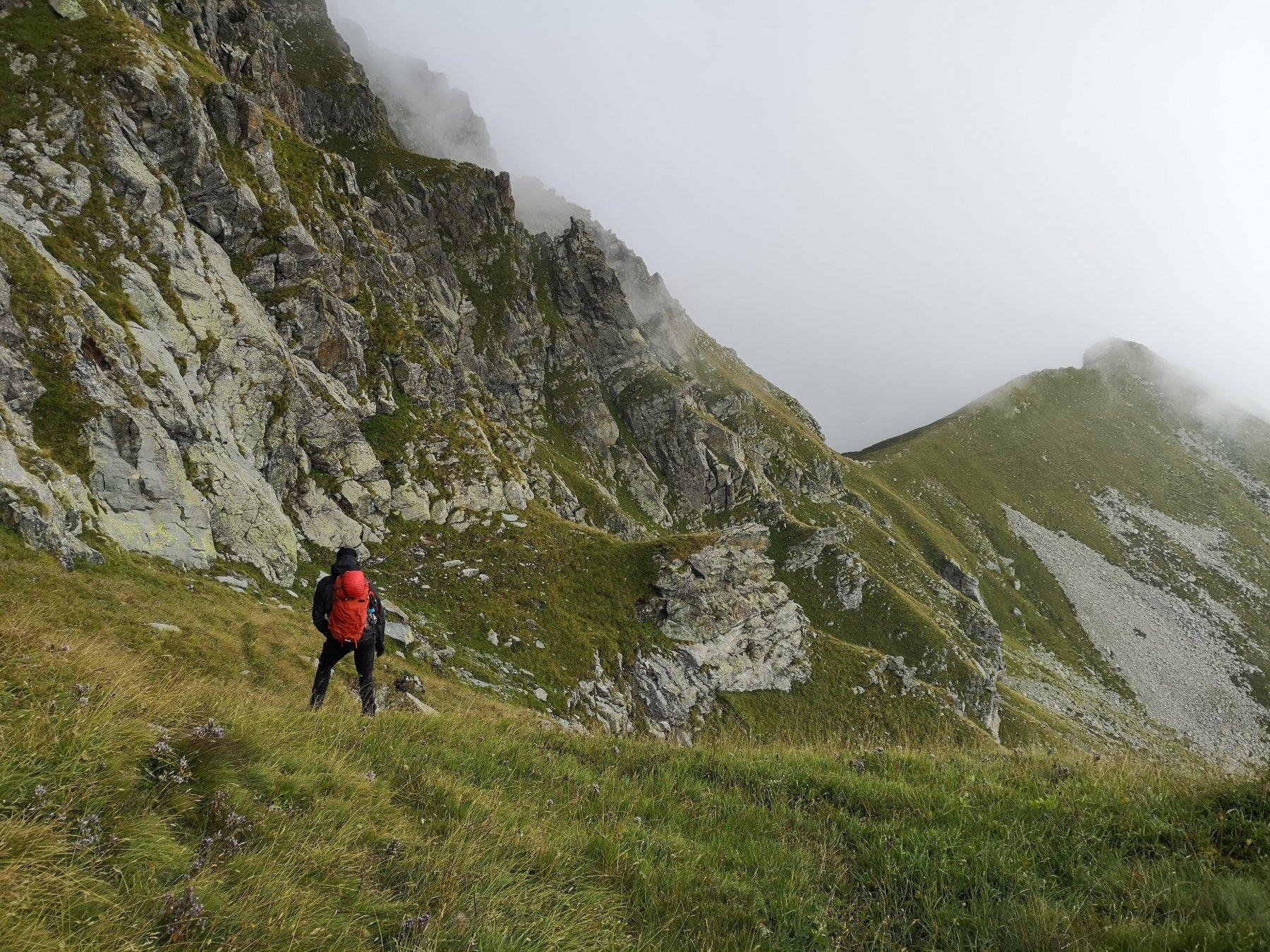Sentiero di rientro. Lato Valle di Viù.