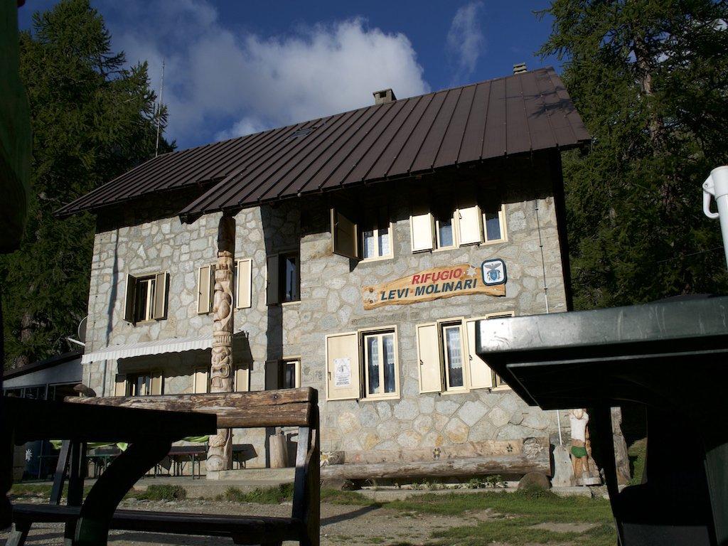Il rifugio Levi-Molinari