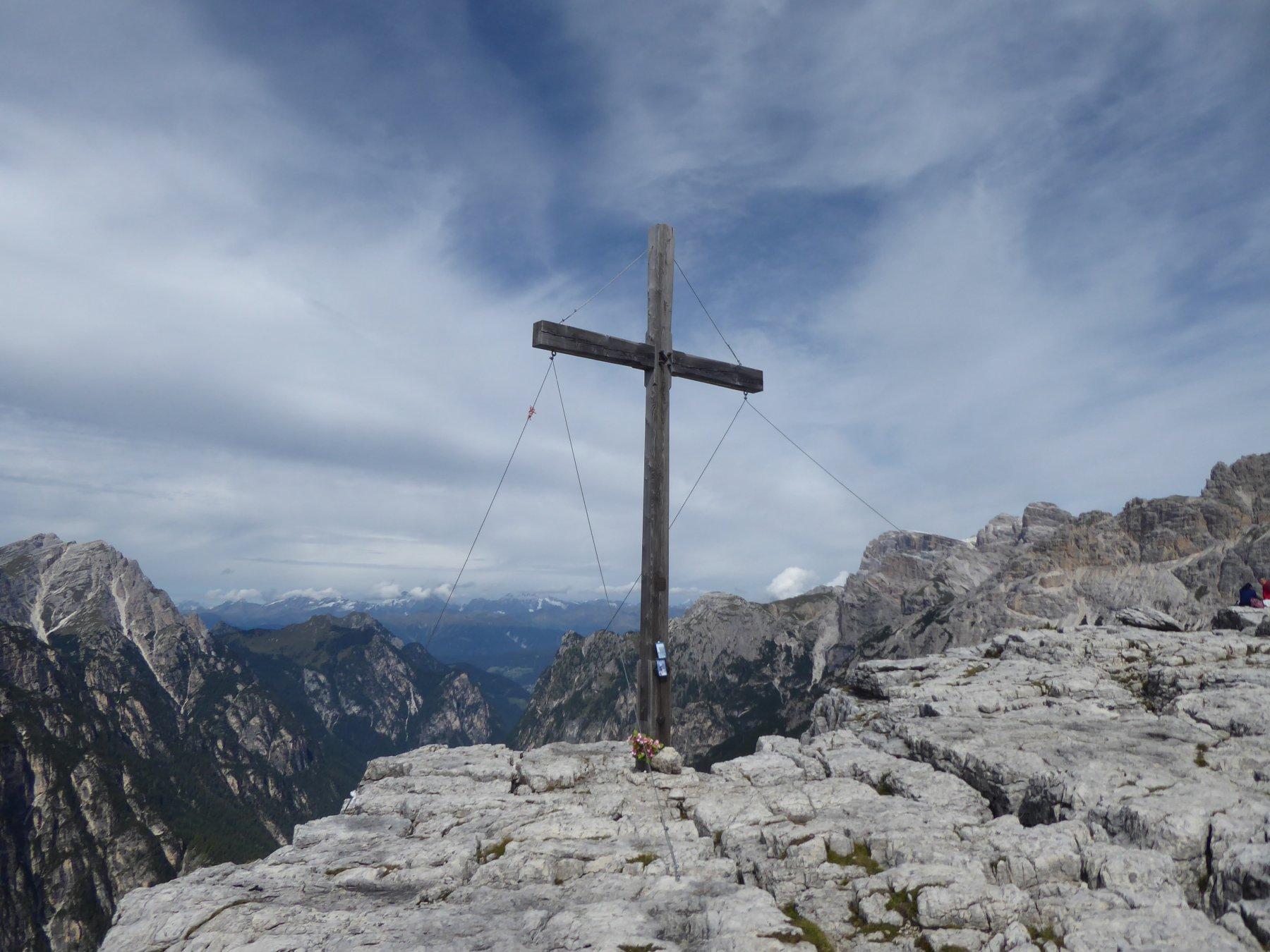 La croce del M.te Piano, detta anche Croce di Dobbiaco.