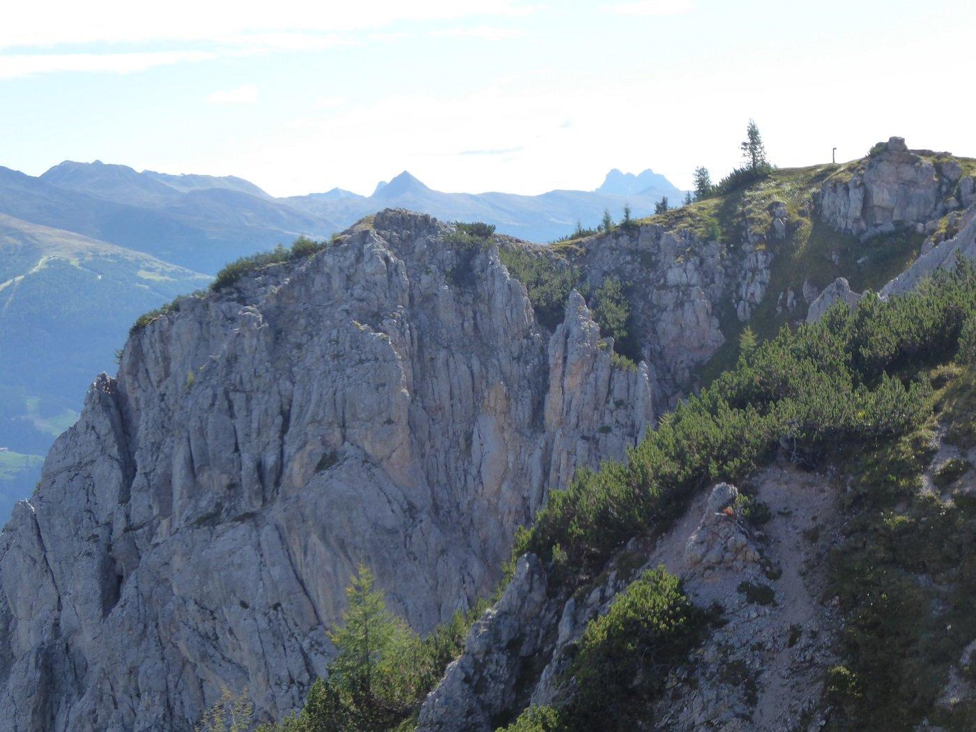 Baranci (Piccola Rocca dei) dal Rifugio Baranci (Haunoldhutte) 2019-09-12