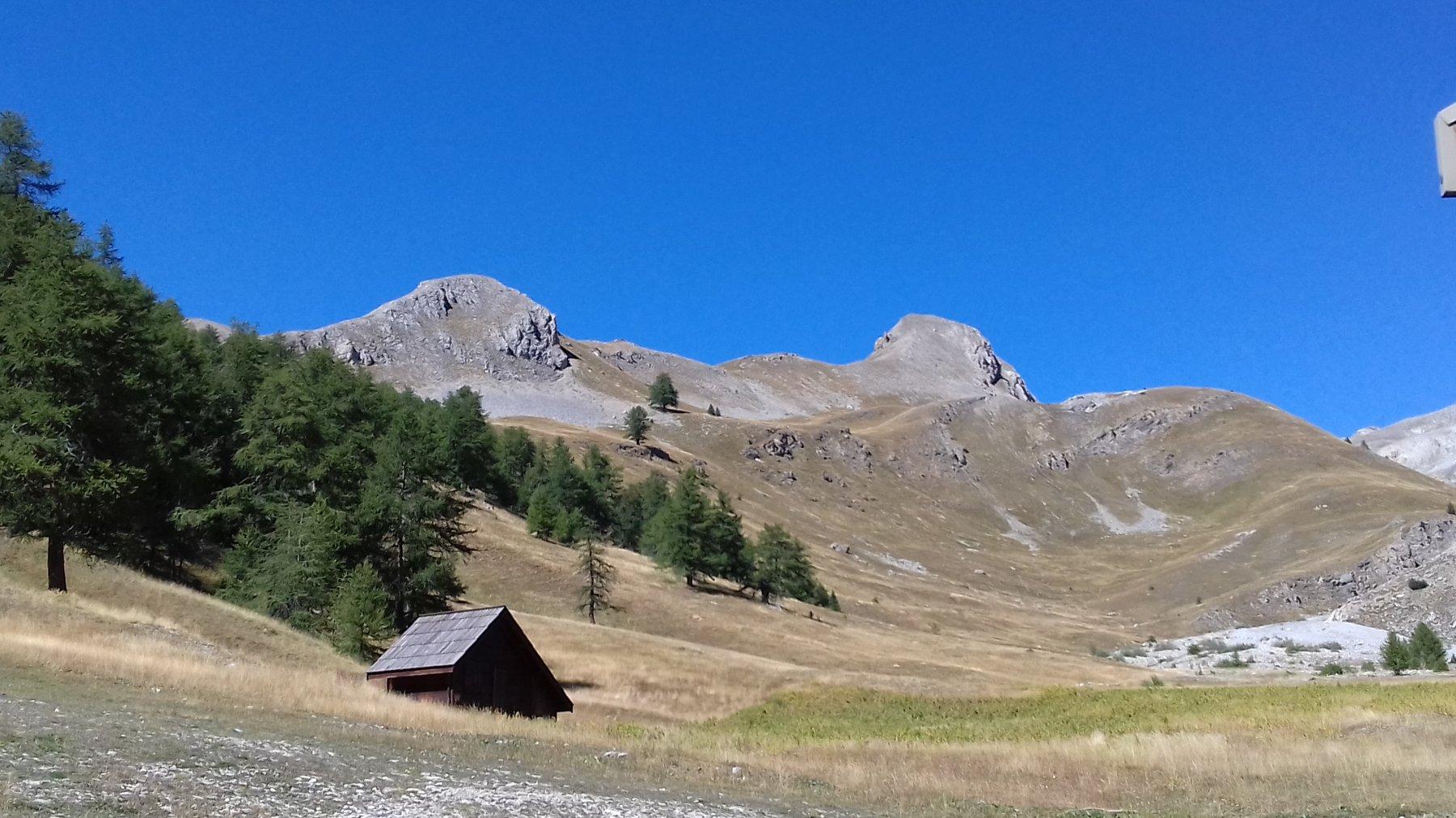 Chaberton (Monte) da Montgénevre per il Colle dello Chaberton 2019-09-12