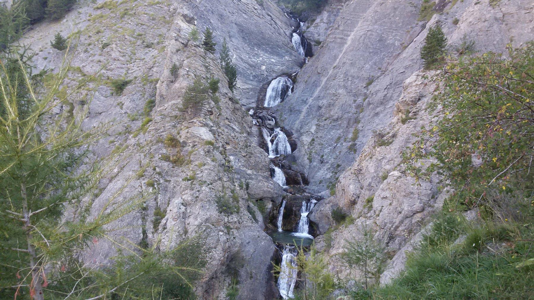 Poco sopra Pont de l'Alpe