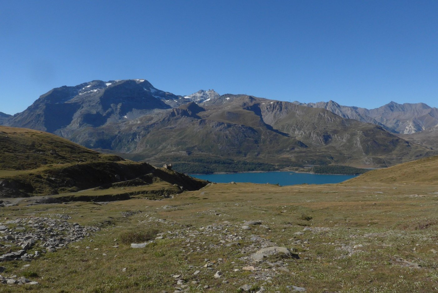 Dopo il forte, vista lago