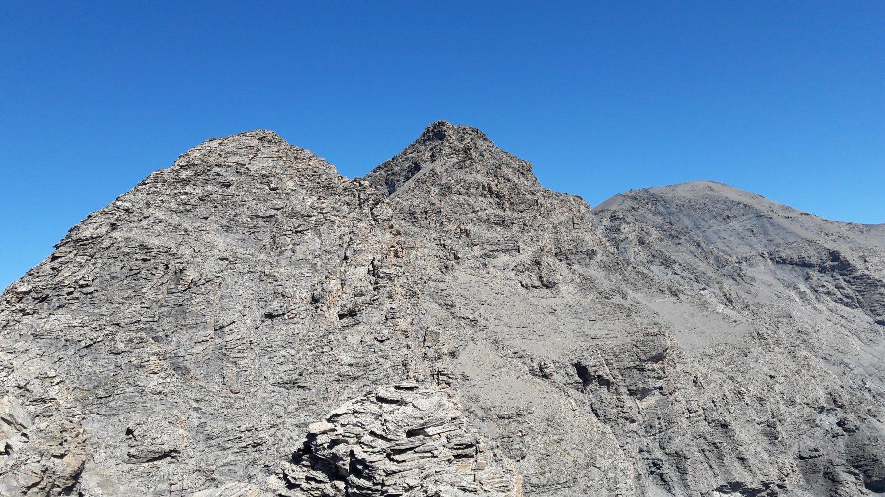 Il Signal du Grand Mont Cenis e la Roncia visti da sopra il col du Lou