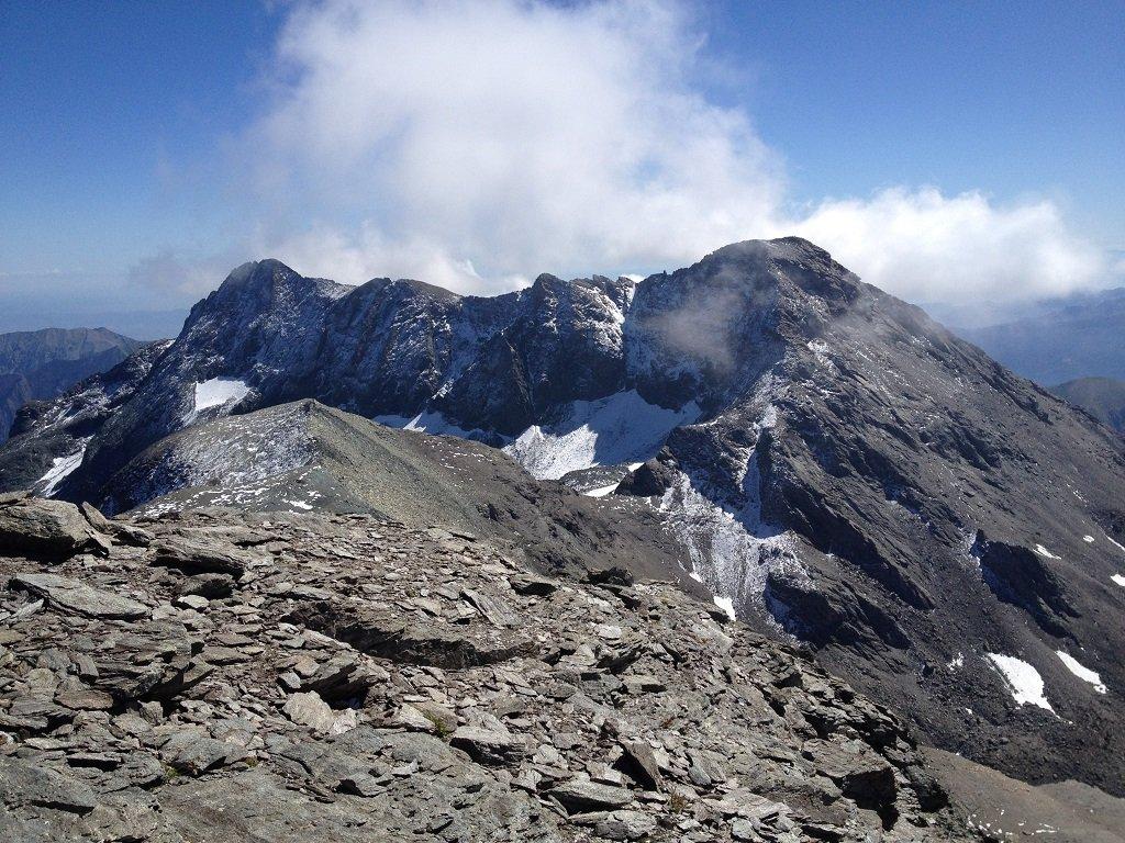 Panoramica ad est sul Lera, Sulè