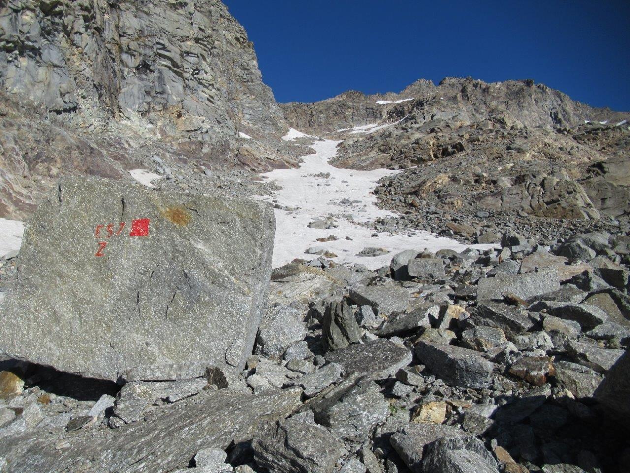 Inizia la neve verso q.2.800 m