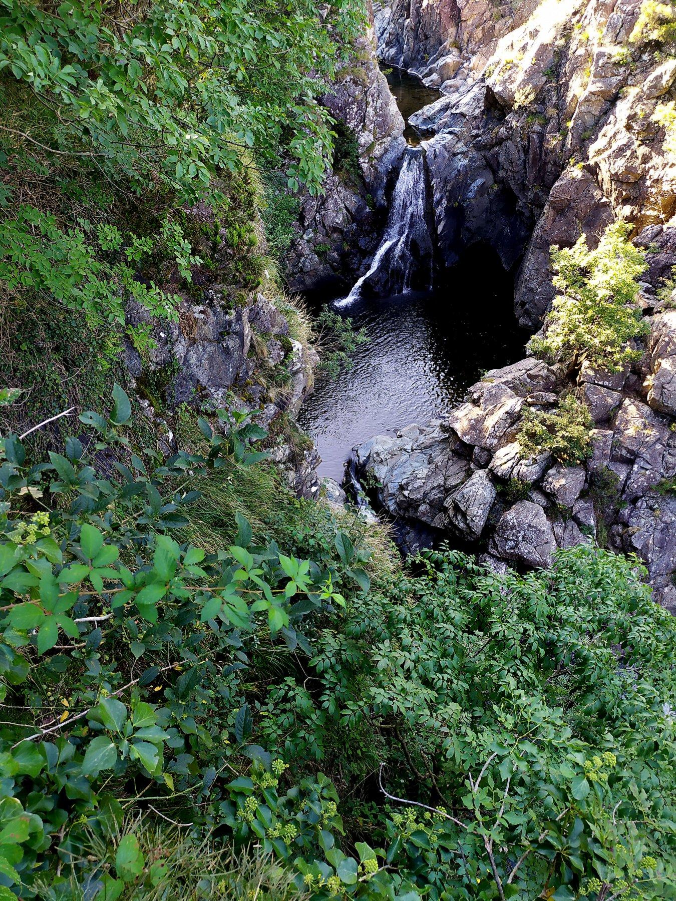 La cascata del Serpente