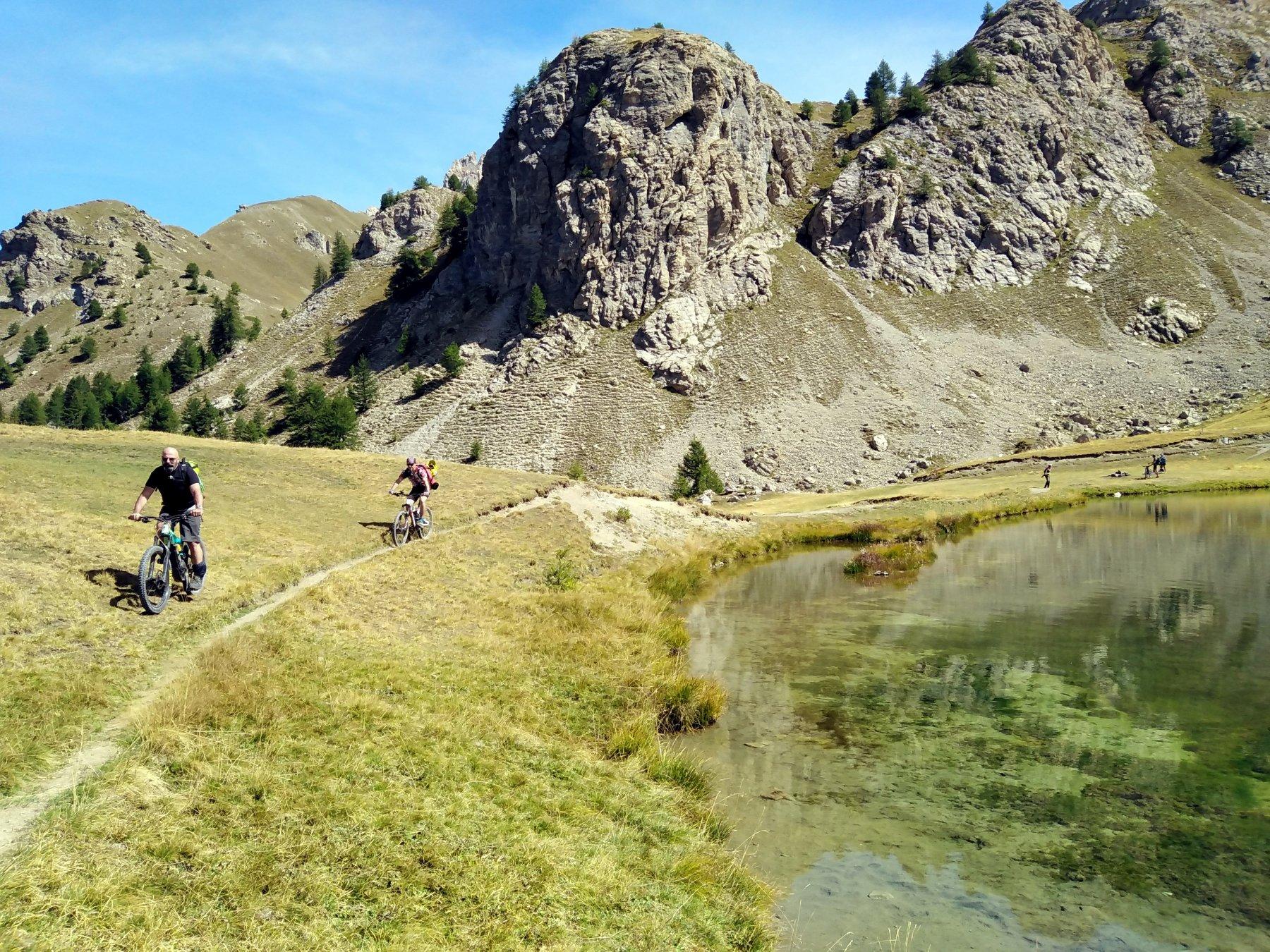 lo splendido lac du Lauzet