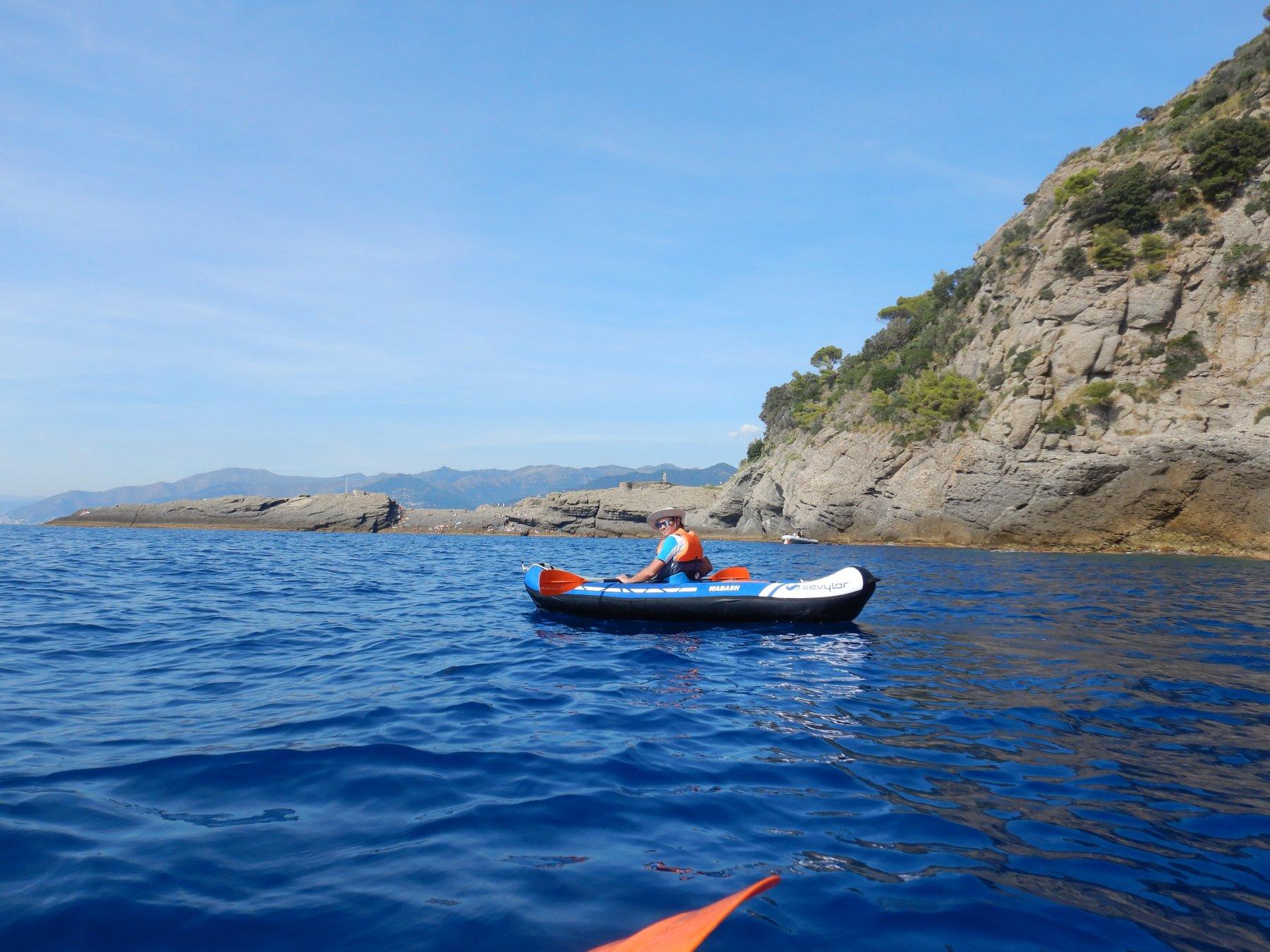 Al ritorno Punta Chiappa
