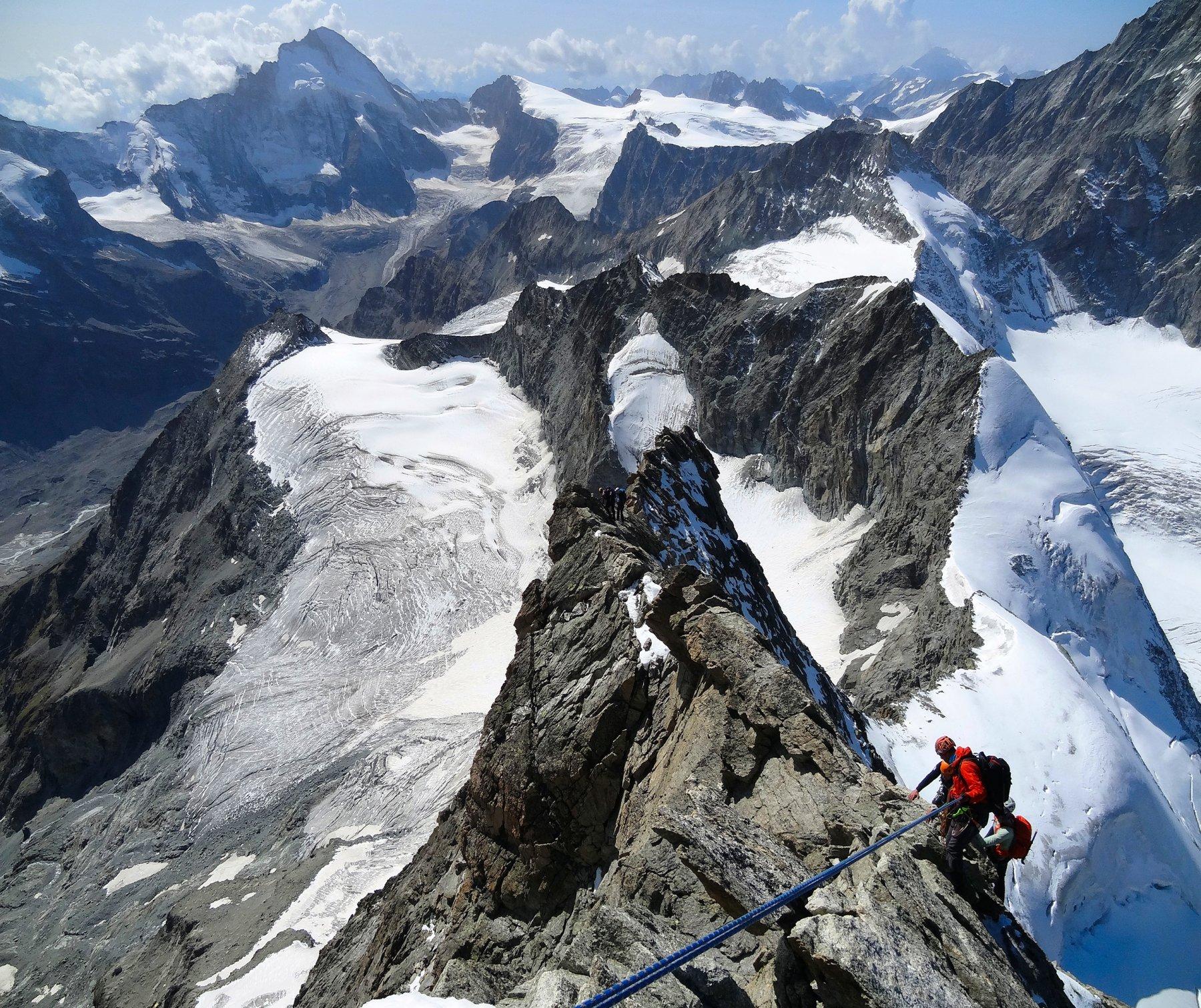 Obergabelhorn Cresta Sud-Ovest o Arbengrat 2019-09-15