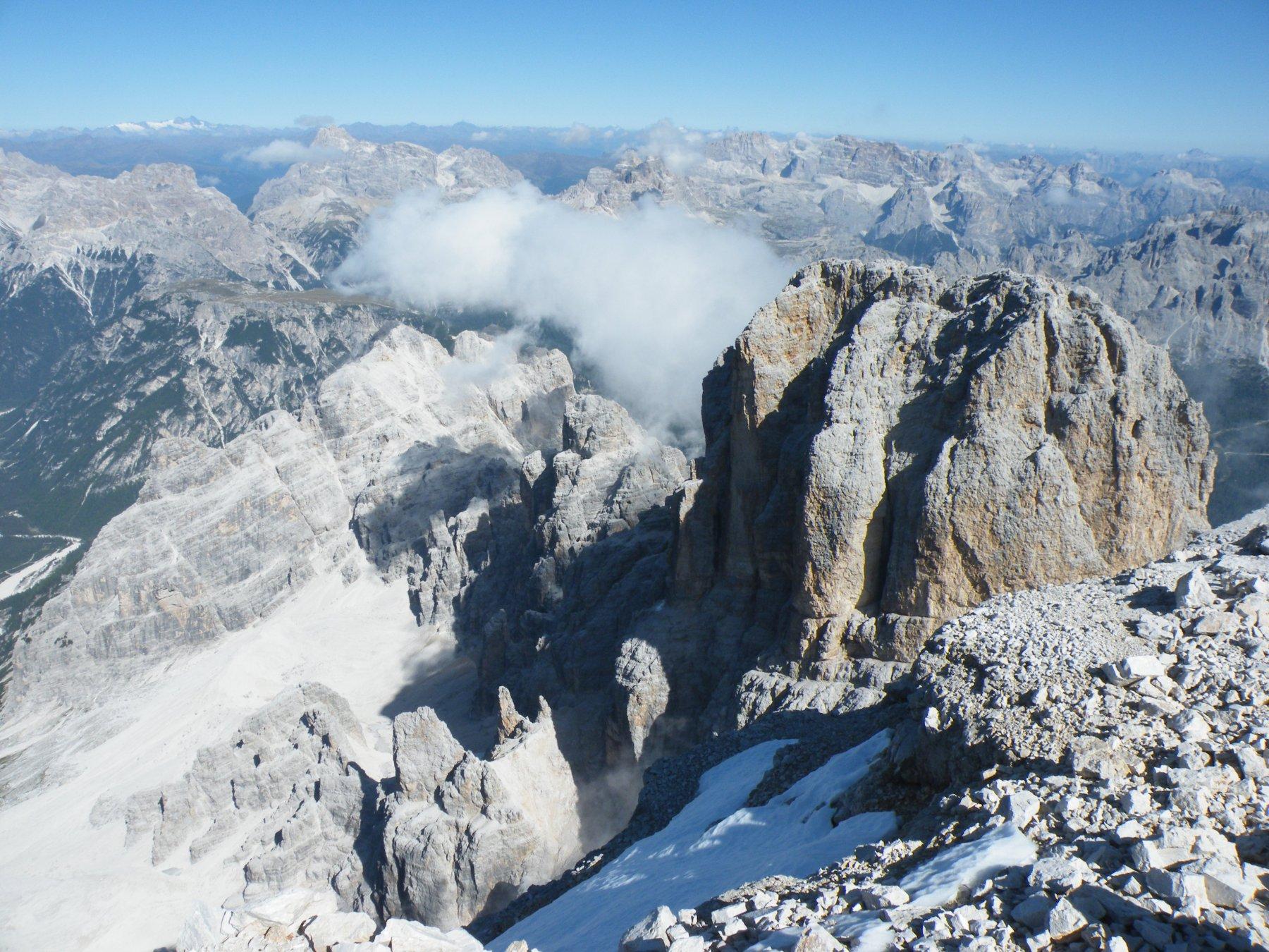 Cristallo (Monte) Via Normale dal Passo Tre Croci 2019-09-21