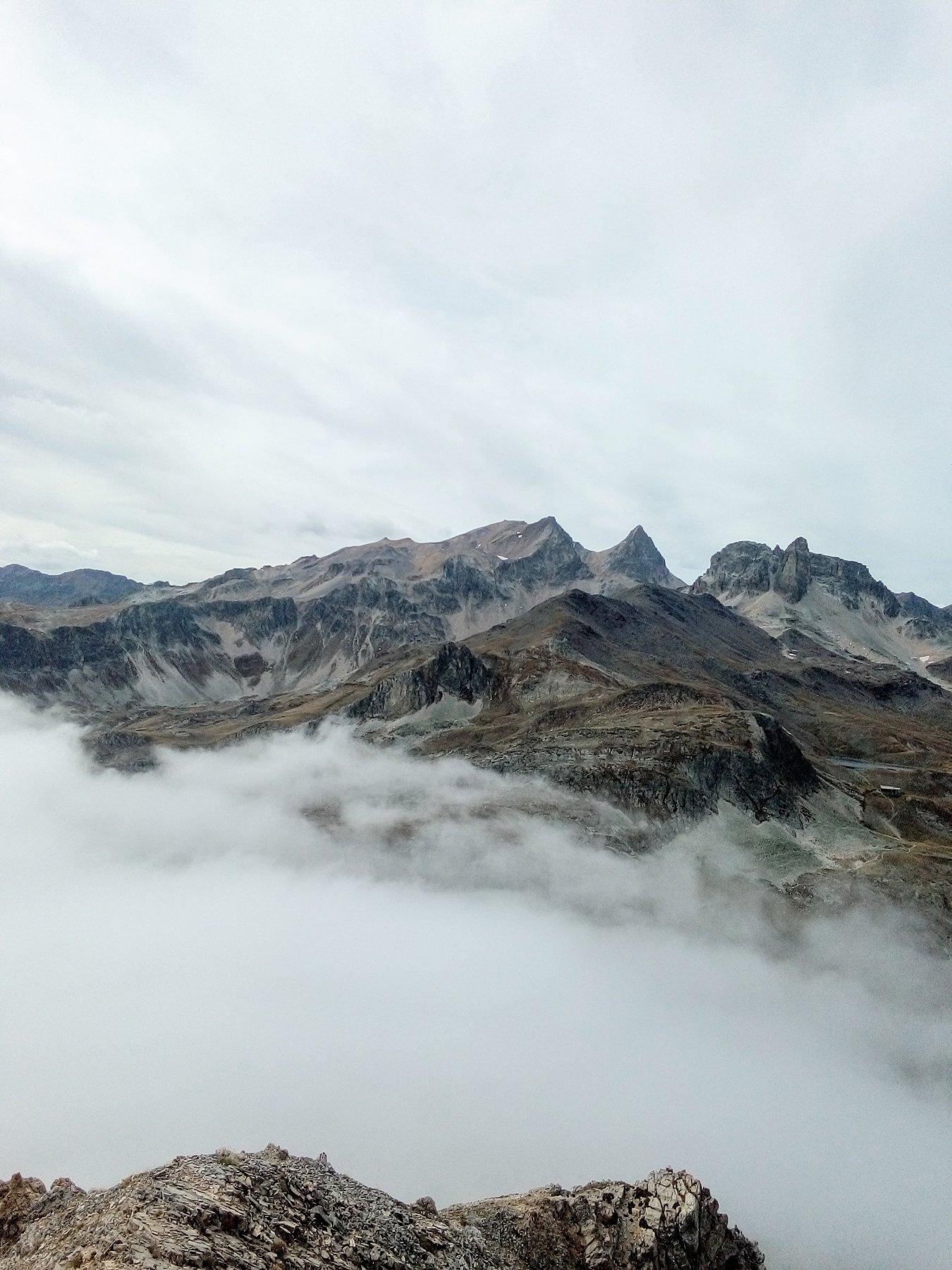 Sullo sfondo Monte Thabor e Pic di Thabor