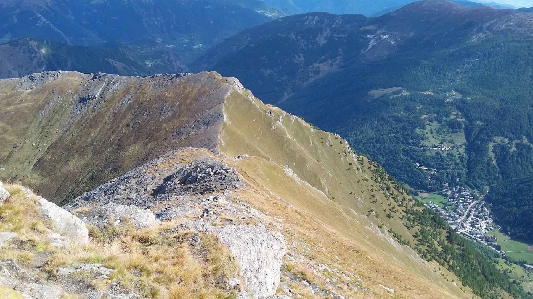 Ghigo di Prali e il Monte Selletta