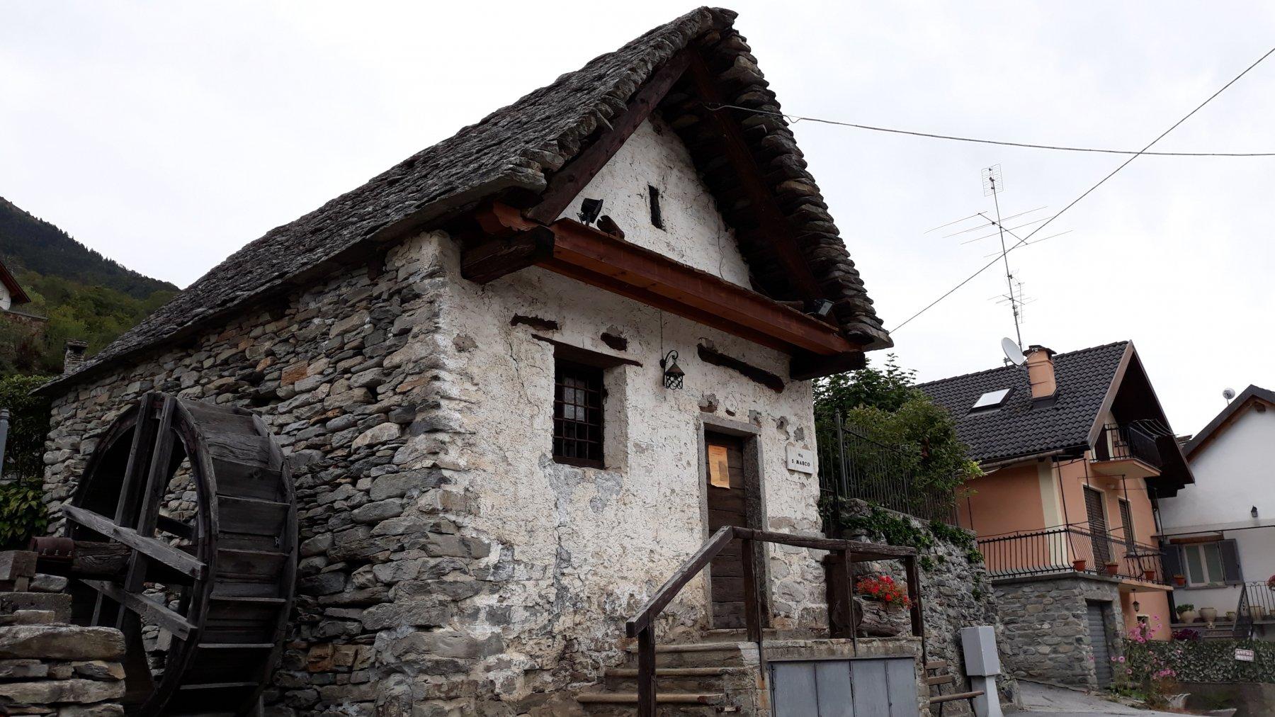 Il vecchio Mulino a Sasseglio