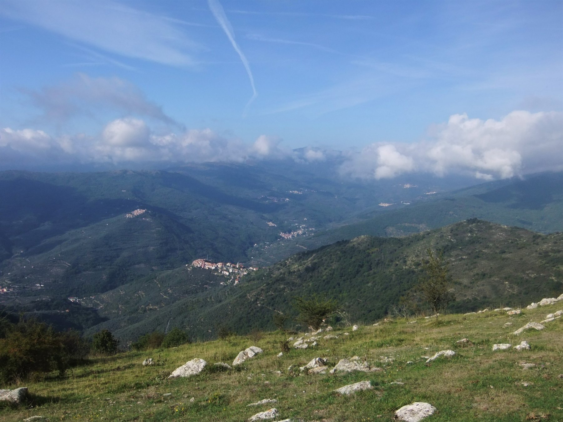 Valle Impero da pendici Pizzo Montin