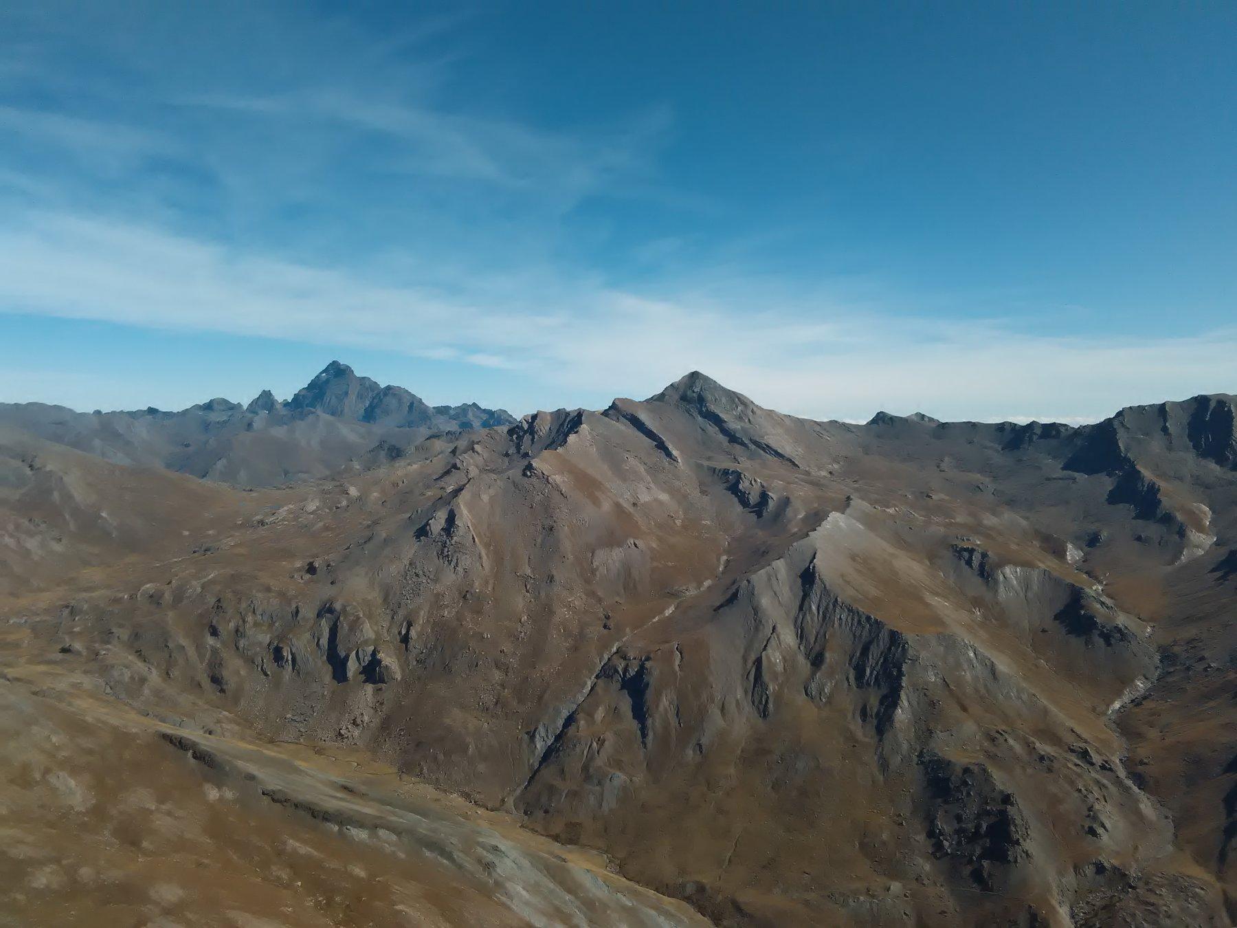 Viso e Mongioia dalla cima