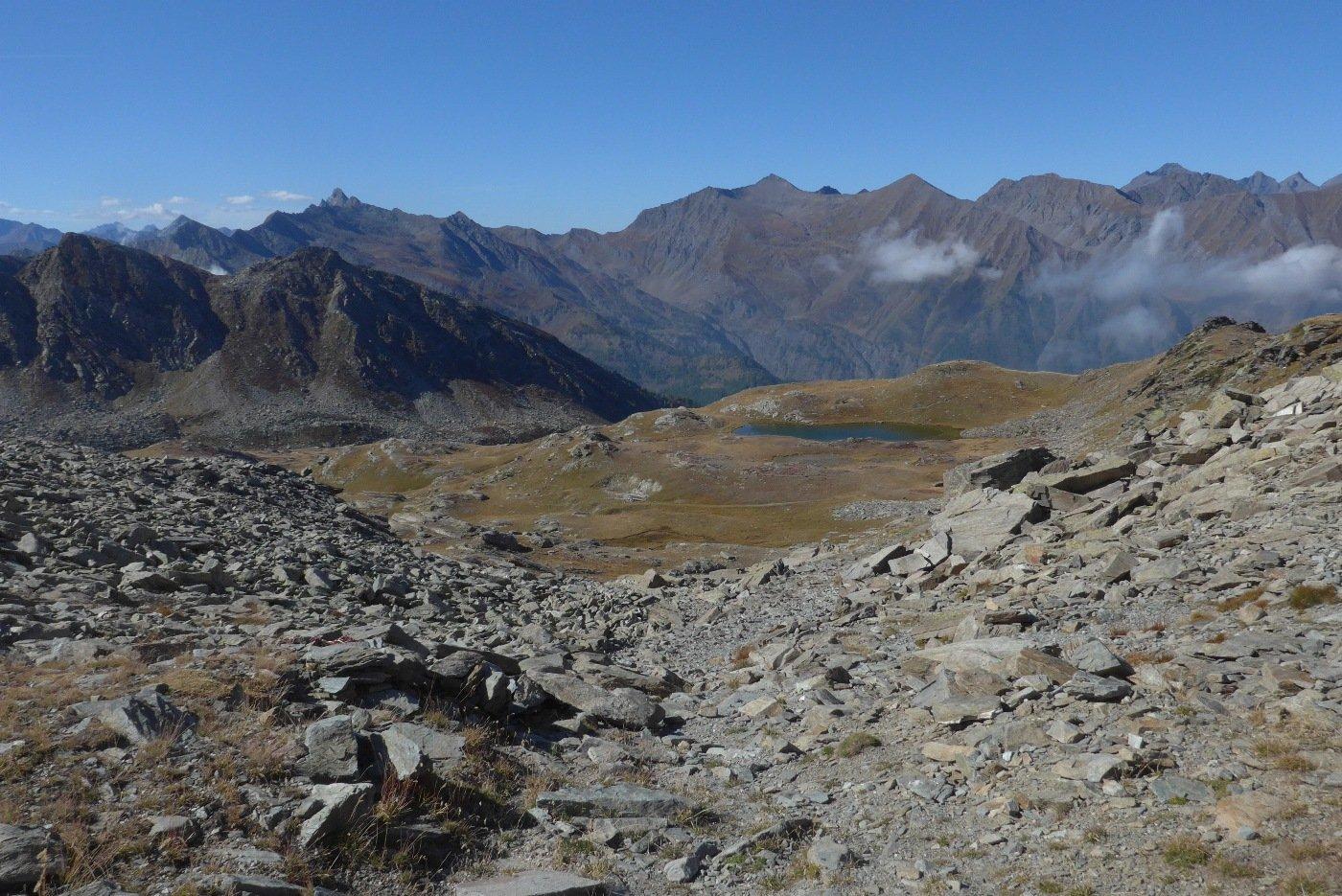 La Conca dei 13 laghi e le montagne della Val Germanasca