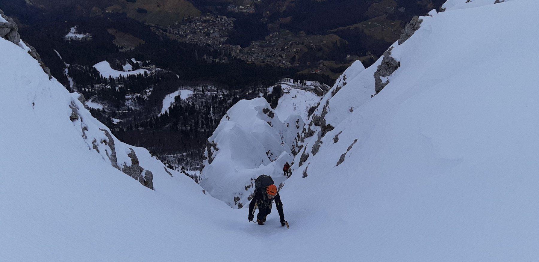 Alben (Monte) Canale de la Nona 2019-12-27