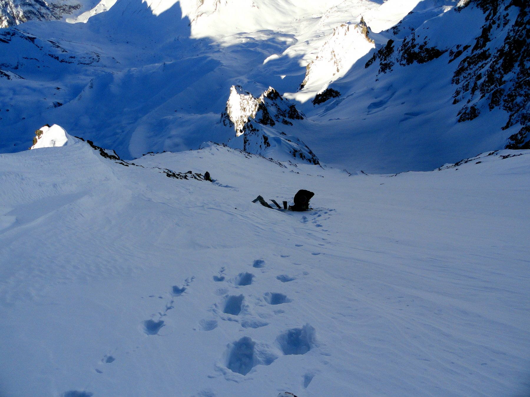 Agneaux (Montagne des) Couloir Piaget 2019-12-30