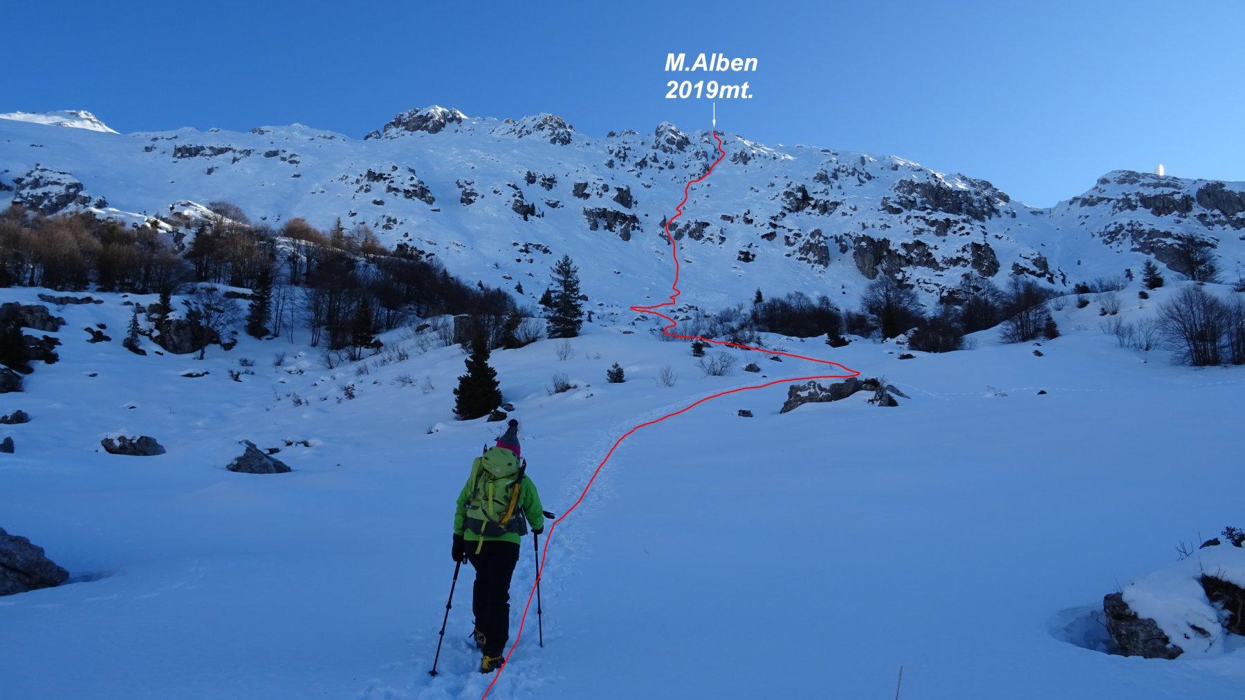 Alben (Monte) Canale Ilaria 2019-12-30