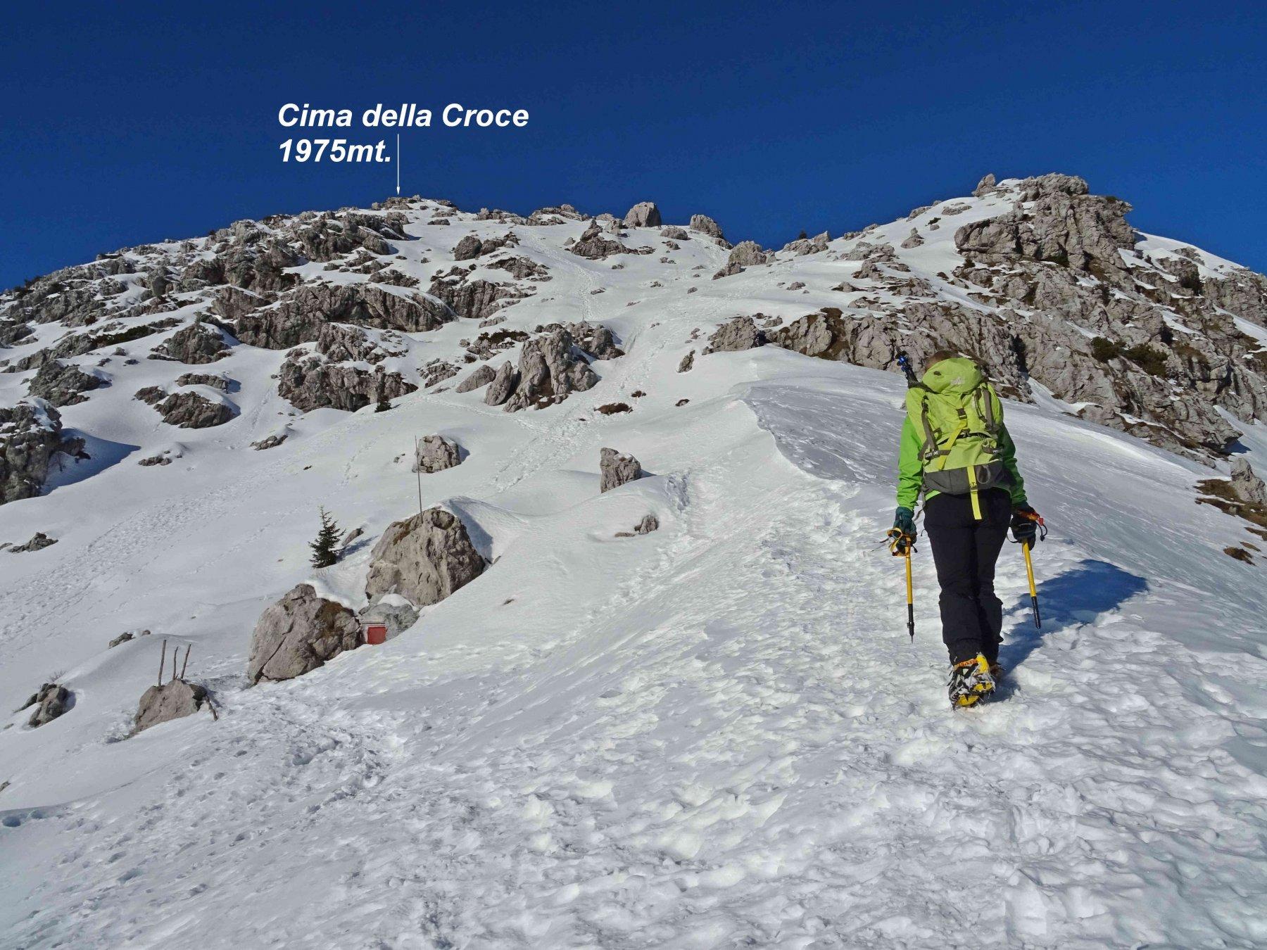 Alben (Monte) e Cima della Croce da Cornalba 2019-12-30