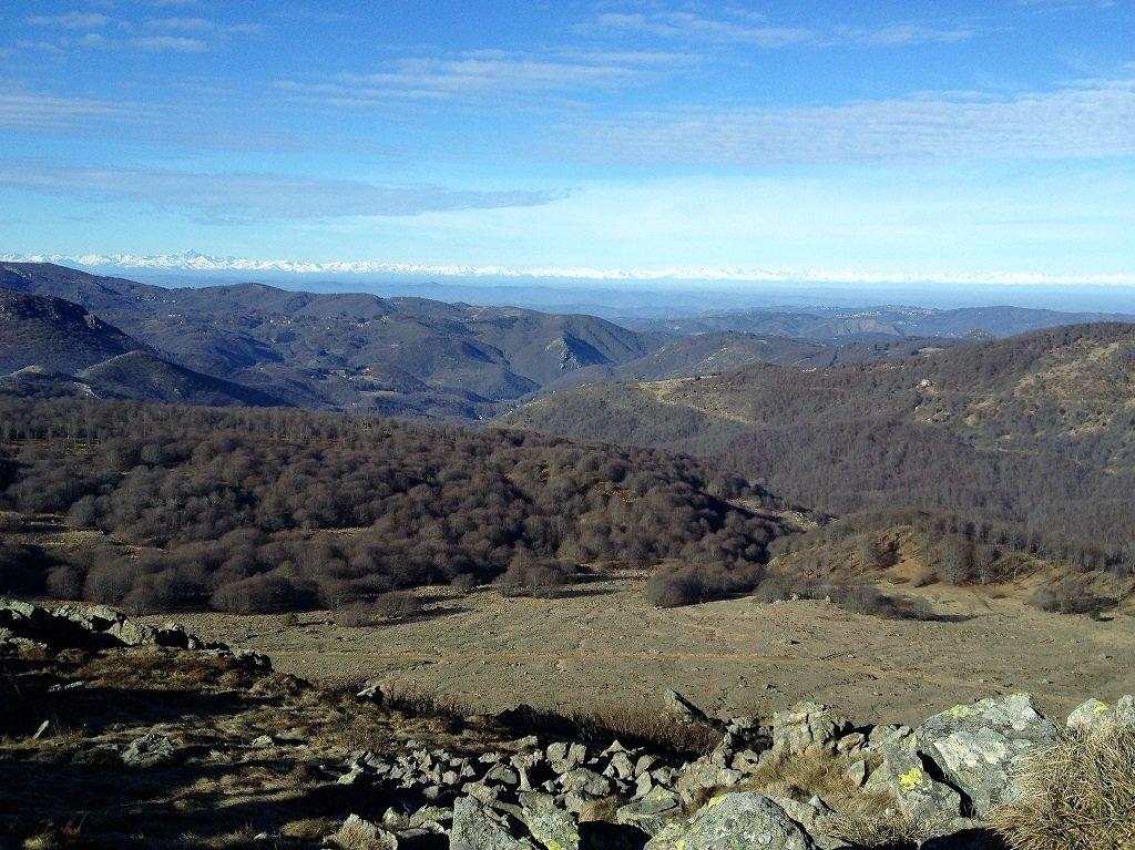 Reixa (Monte) e Rocca Vaccaria da Arenzano, anello per i Passi Gava e Gavetta 2019-12-31