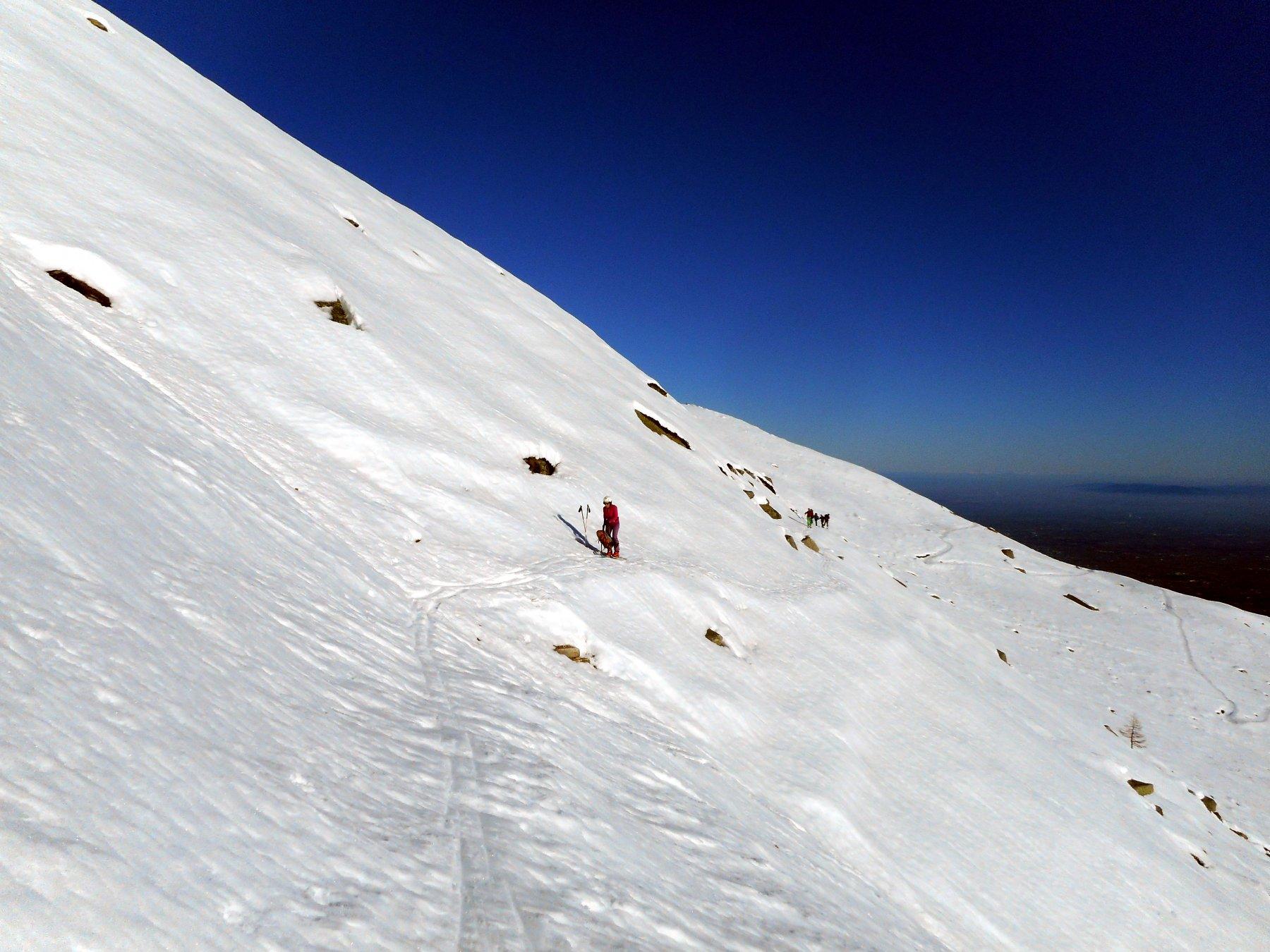 solo con neve sicura