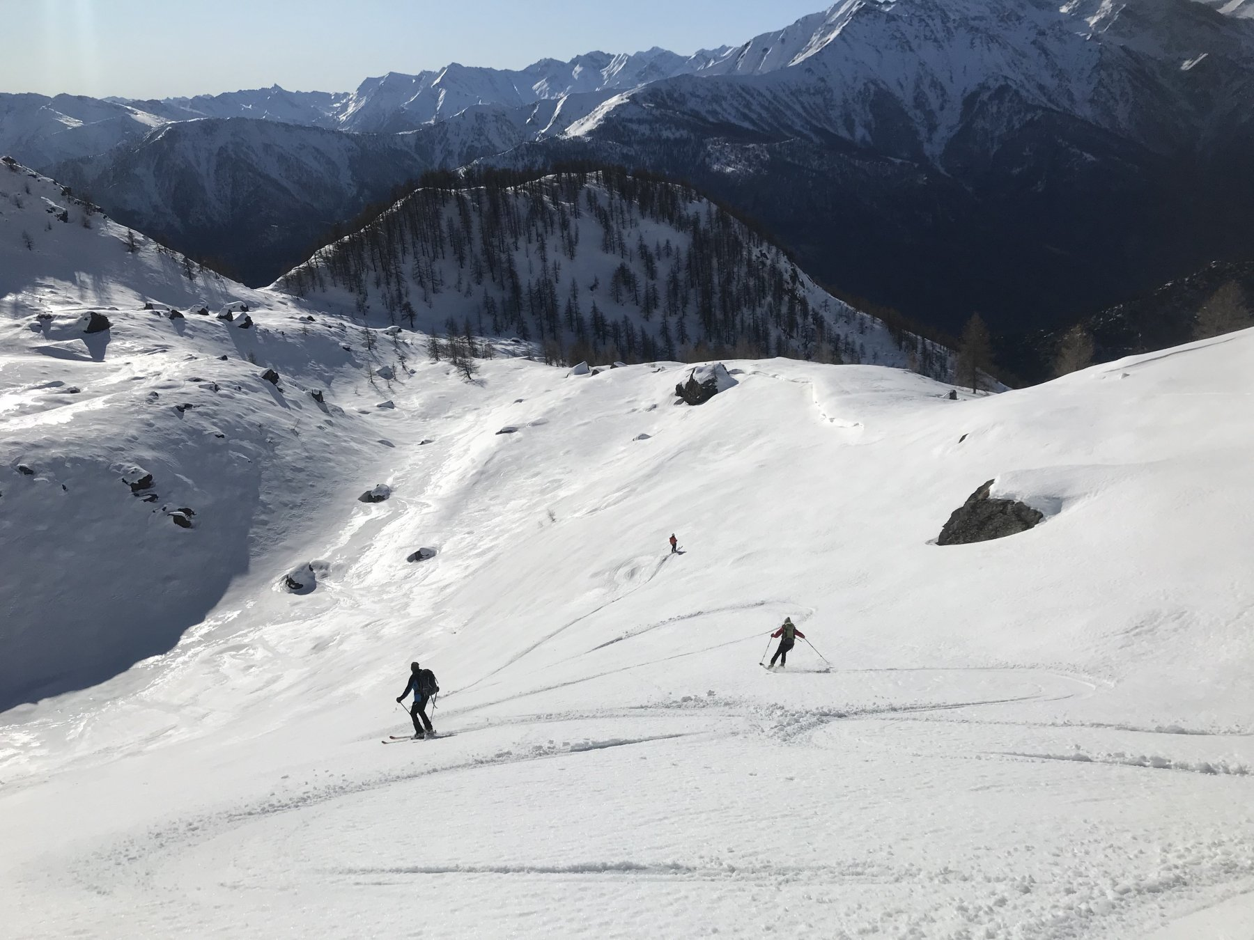 Cristalliera (Punta) spalla Sud quota 2650 m da Seleiraut 2020-01-01