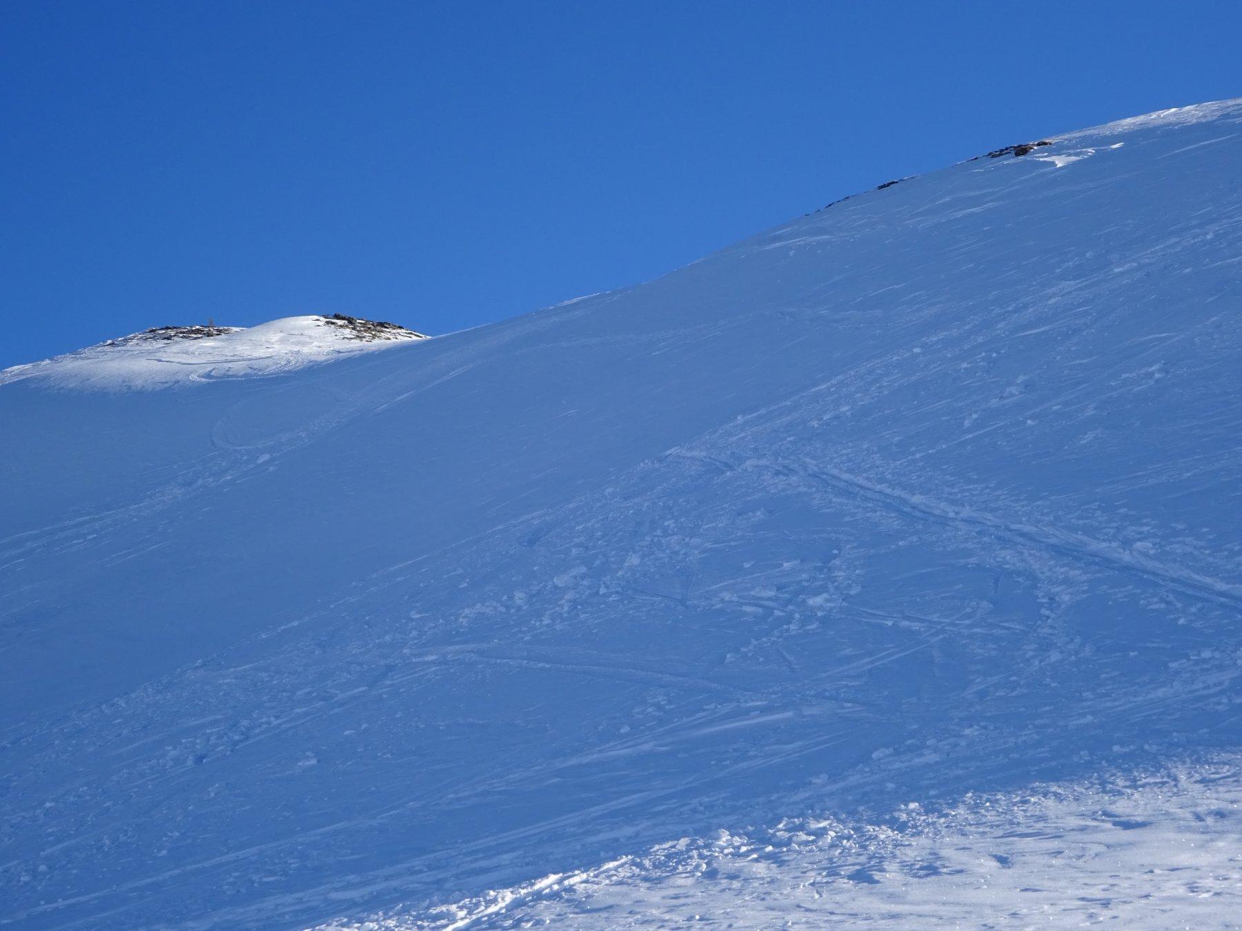 La cima della Crete de la Dormillouse