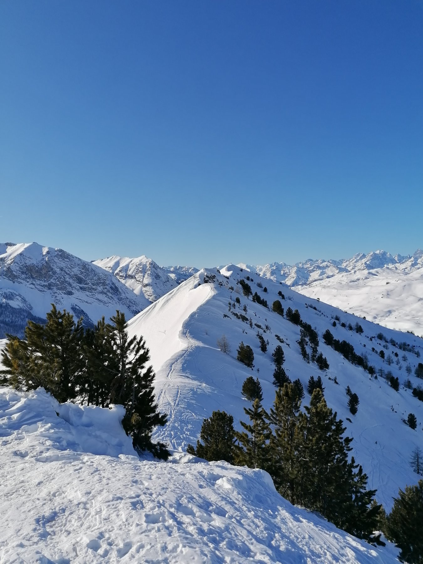 Giassiez (Monte) o Giaissez da Bousson, anello per il Monte Begino e il Lago Nero 2020-01-01
