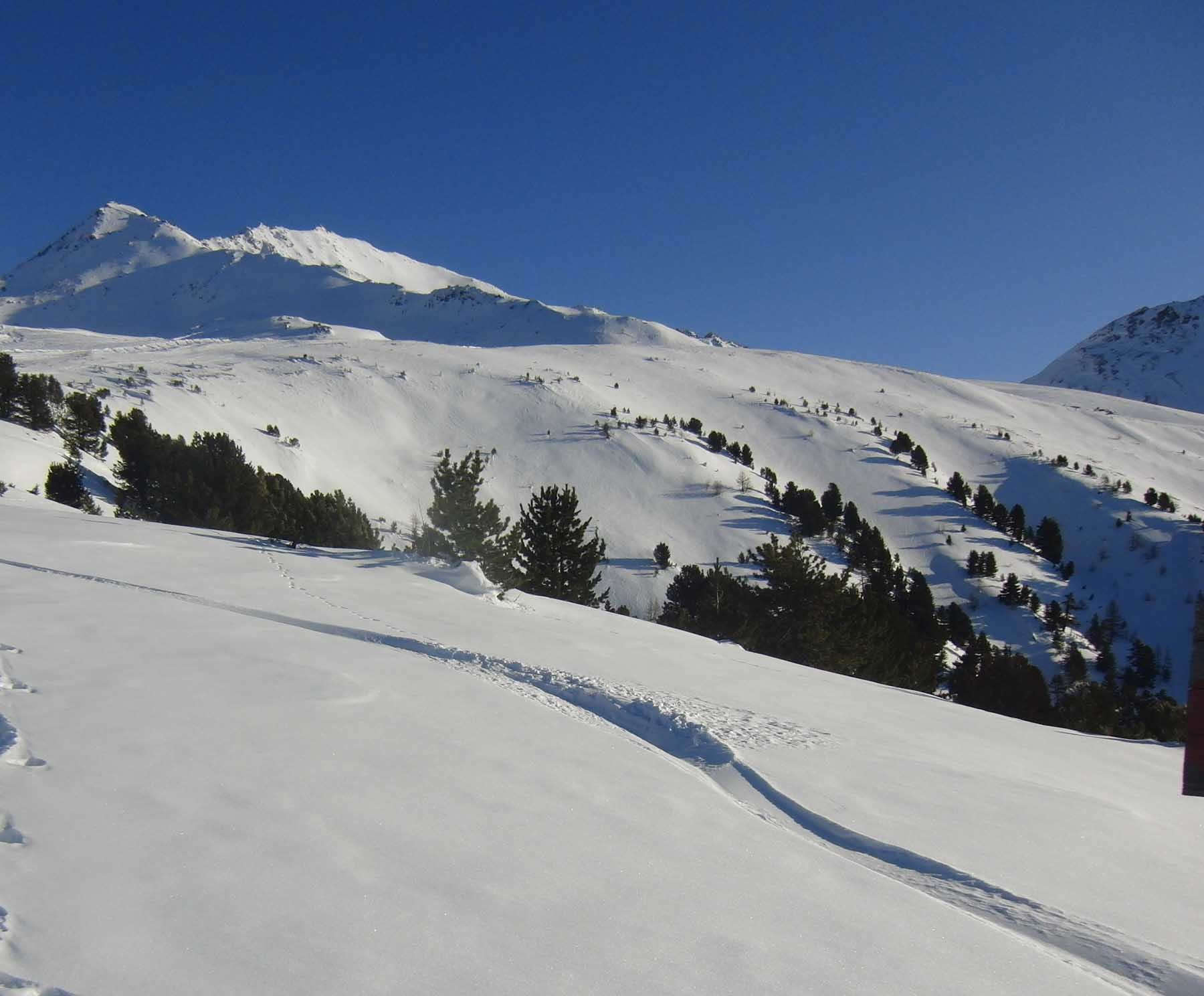 Petit Mont Cenis (Signal du) da Termignon per il Versante Ovest 2020-01-02