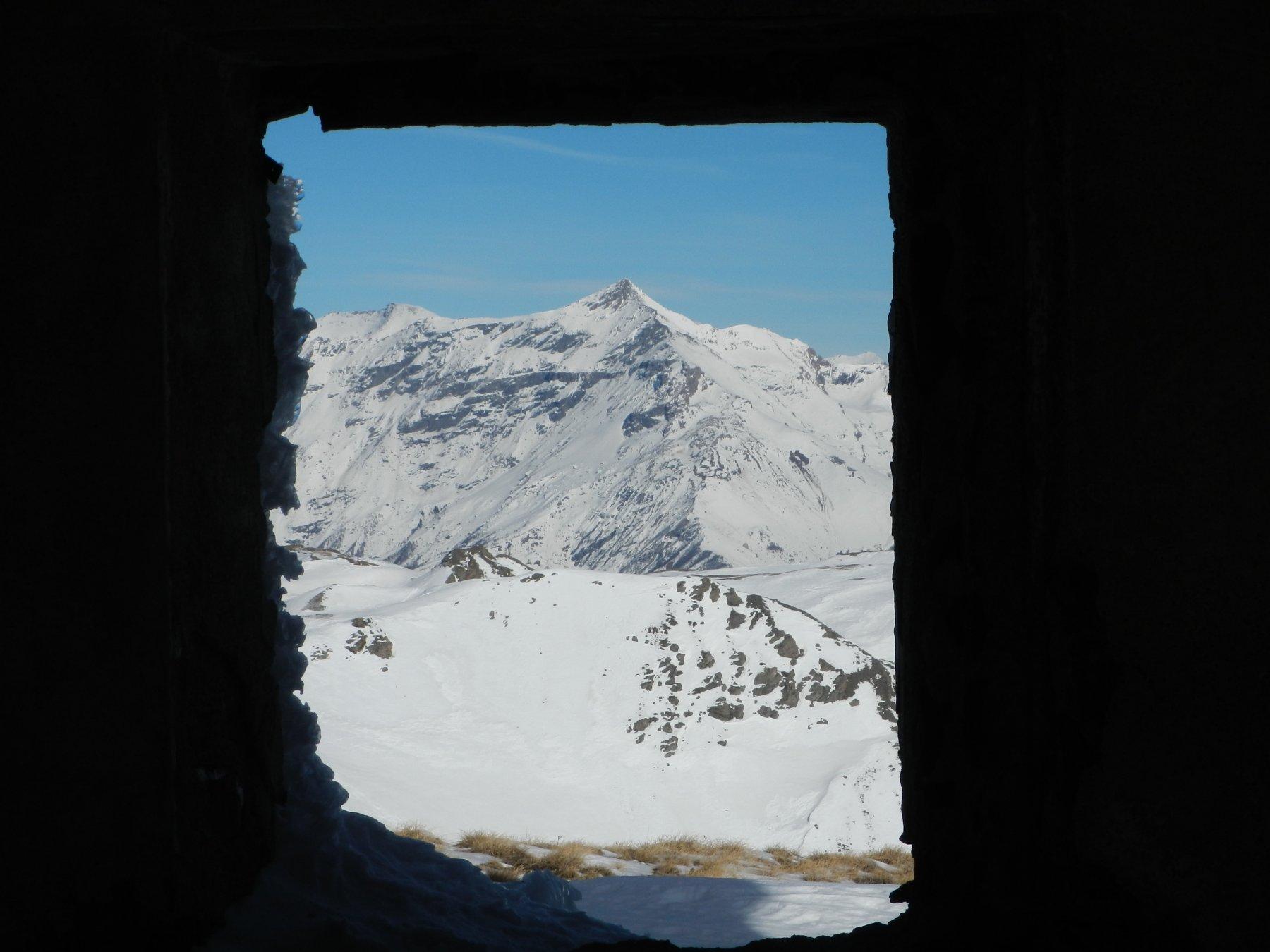 finestra sul Rocciamelone