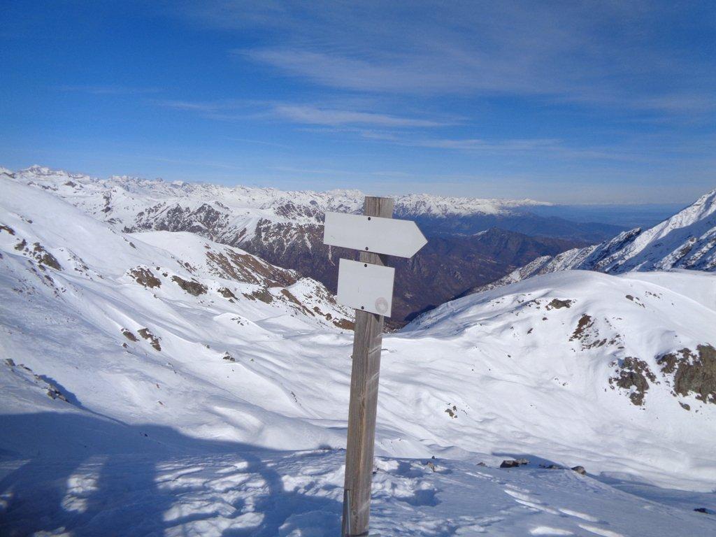Monte Rosa sullo sfondo
