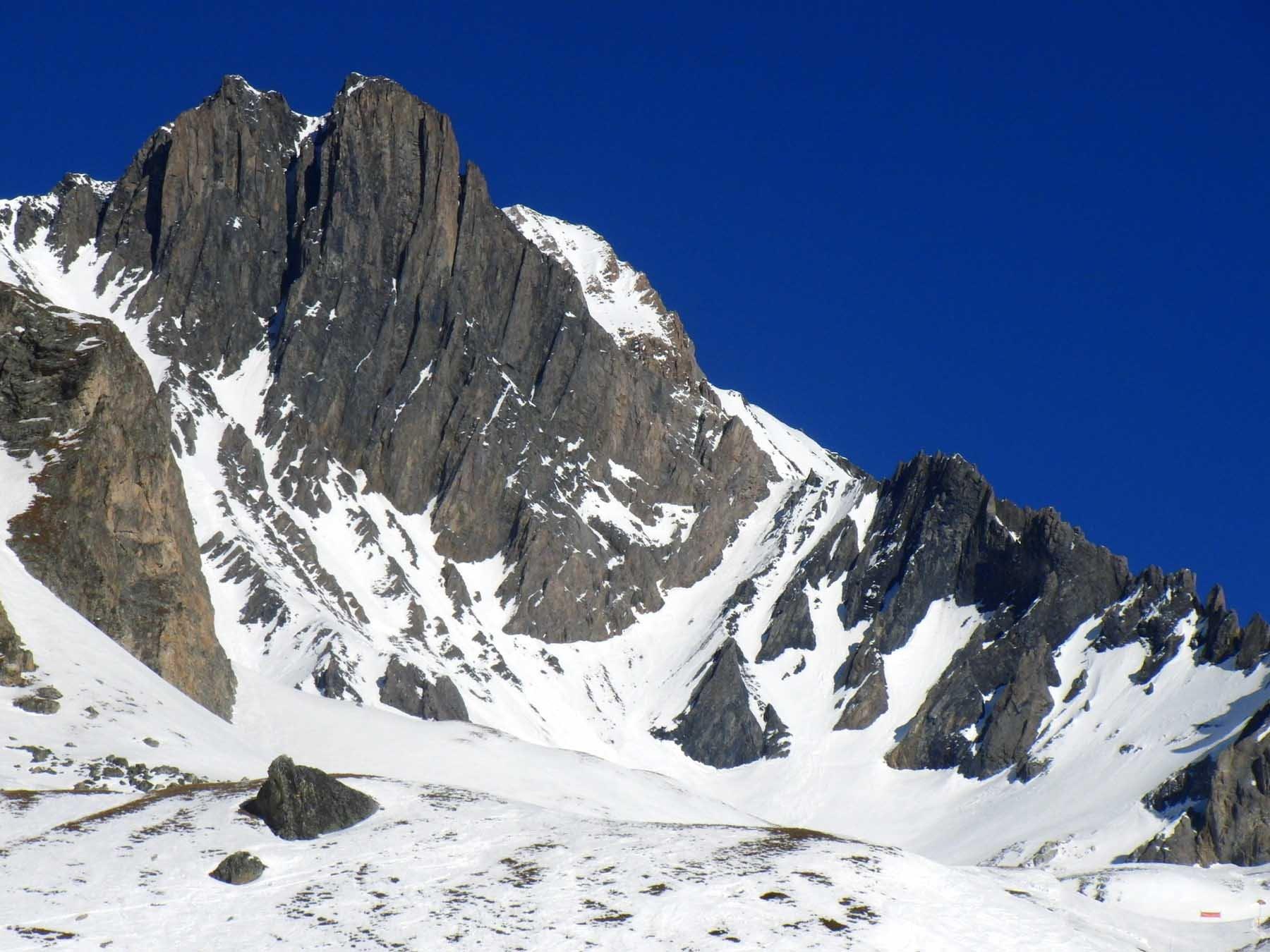 Labby (Col de) da Aussois e possibile traversata a Termignon 2020-01-05