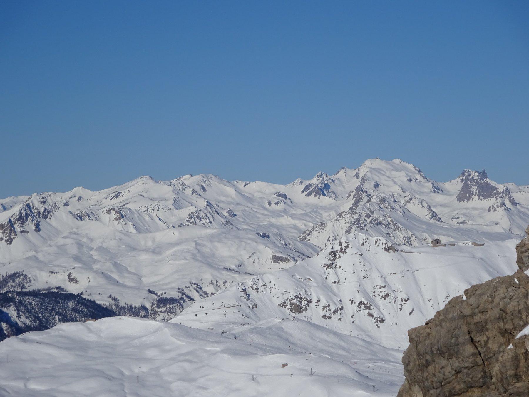 vista verso il monte Thabor dal Lasseron