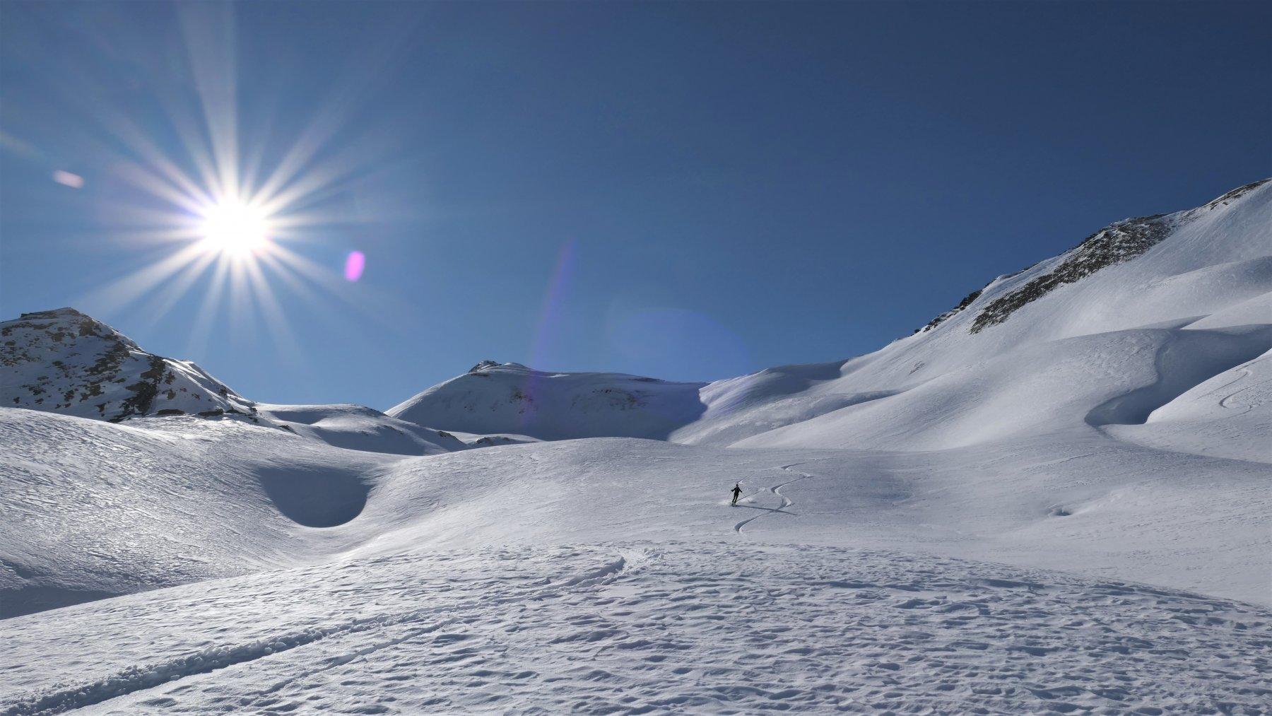 neve al top