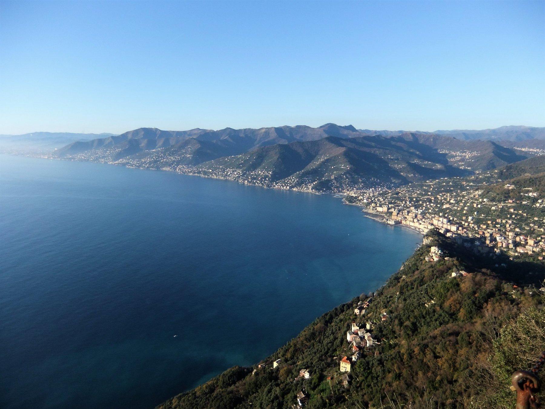 Panorama dalla Rocca del Falco