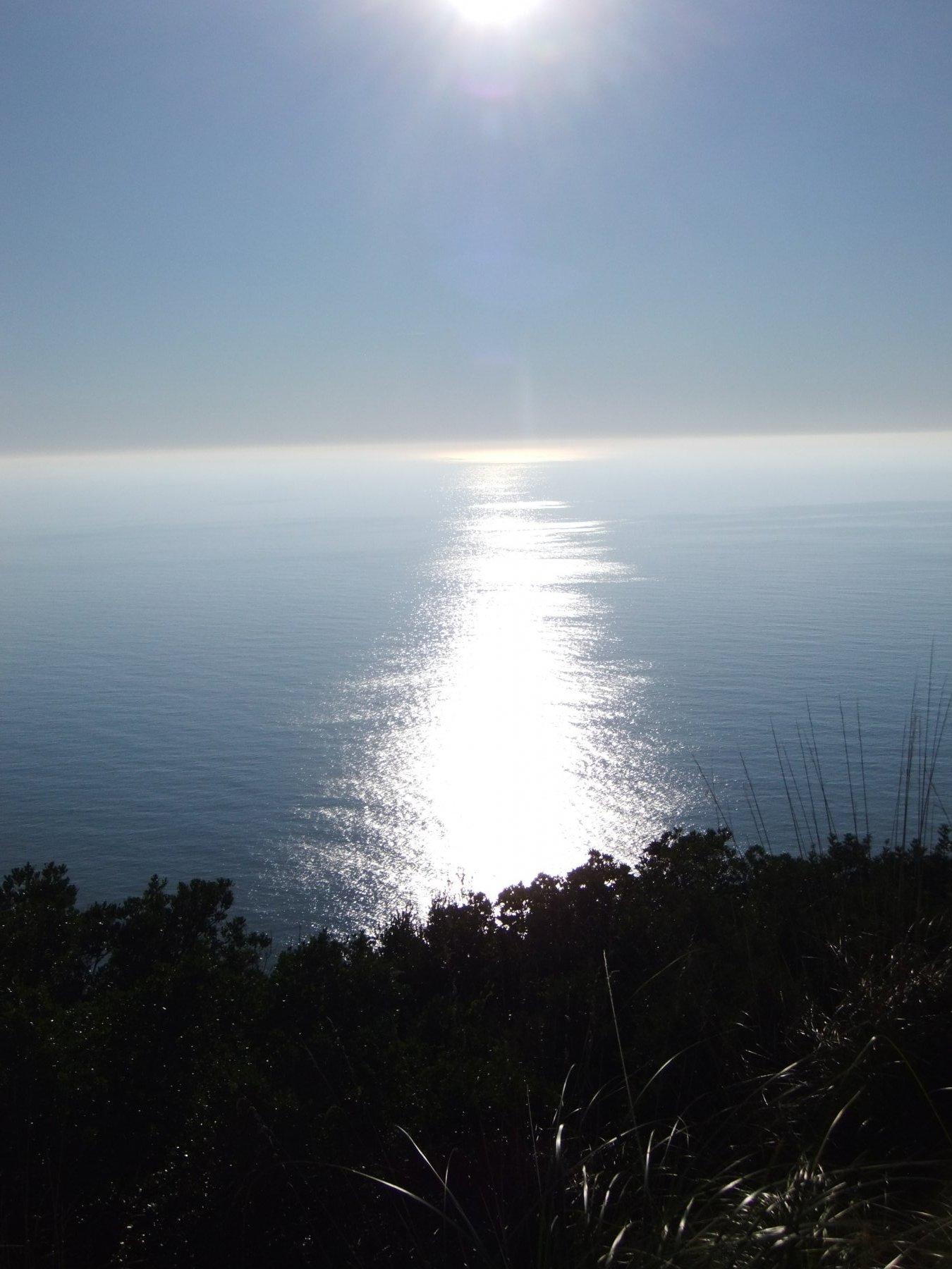Il mare dal Semaforo Nuovo