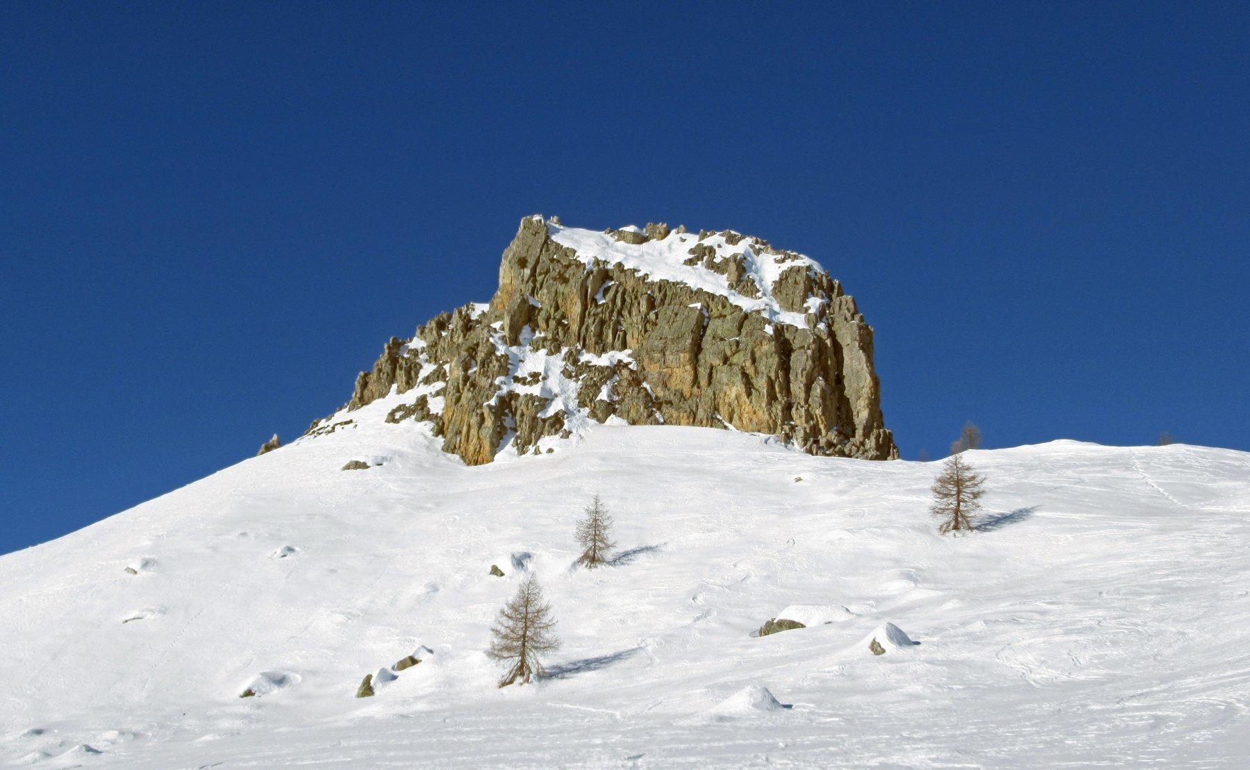 Il castello roccioso del Piutas