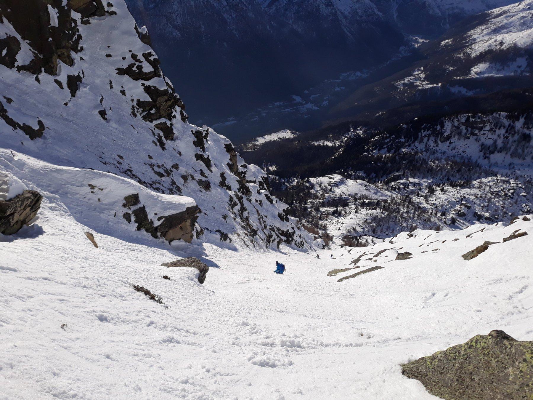 Gran Bernardè (Monte) Canale Ovest o della Spalla 2020-01-06