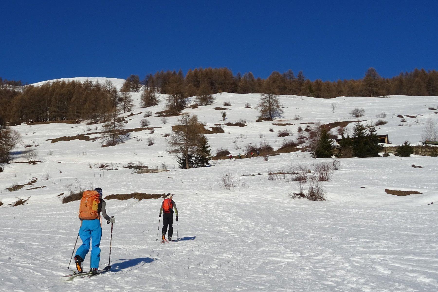 Situazione neve Gran Puy