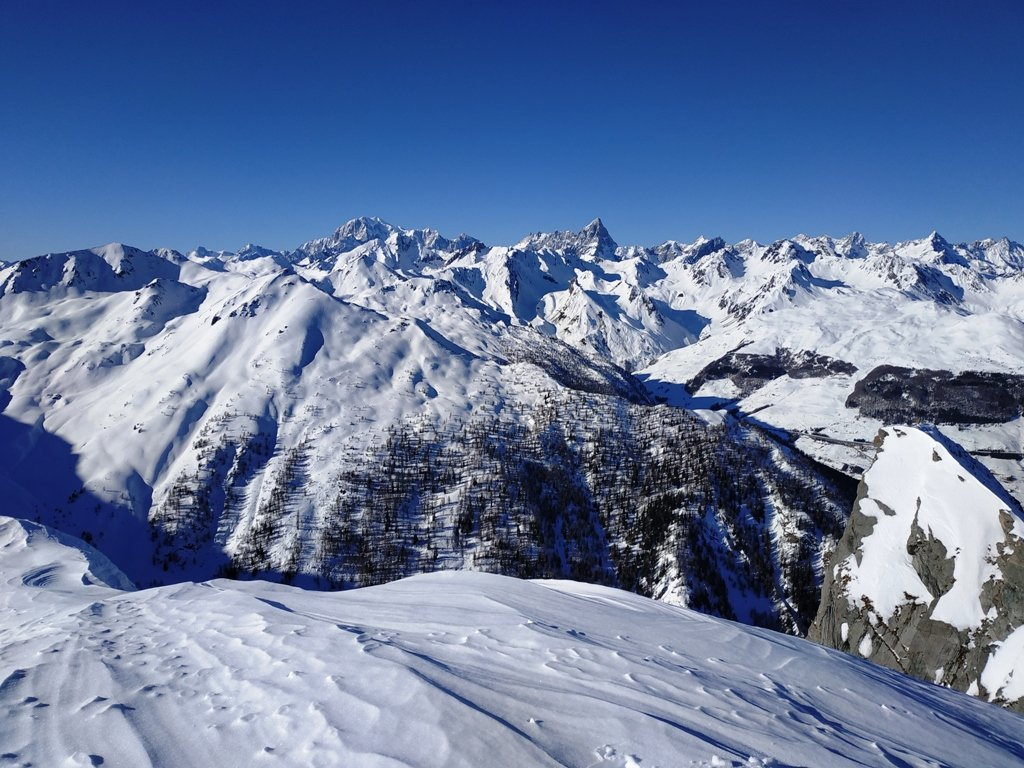 Panorama dalla cima, anche se la foto non rende.