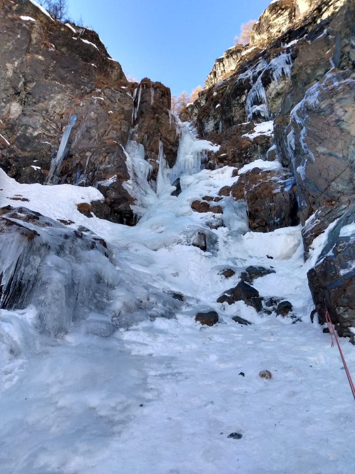Terzo tiro, poco ghiaccio e molti buchi...