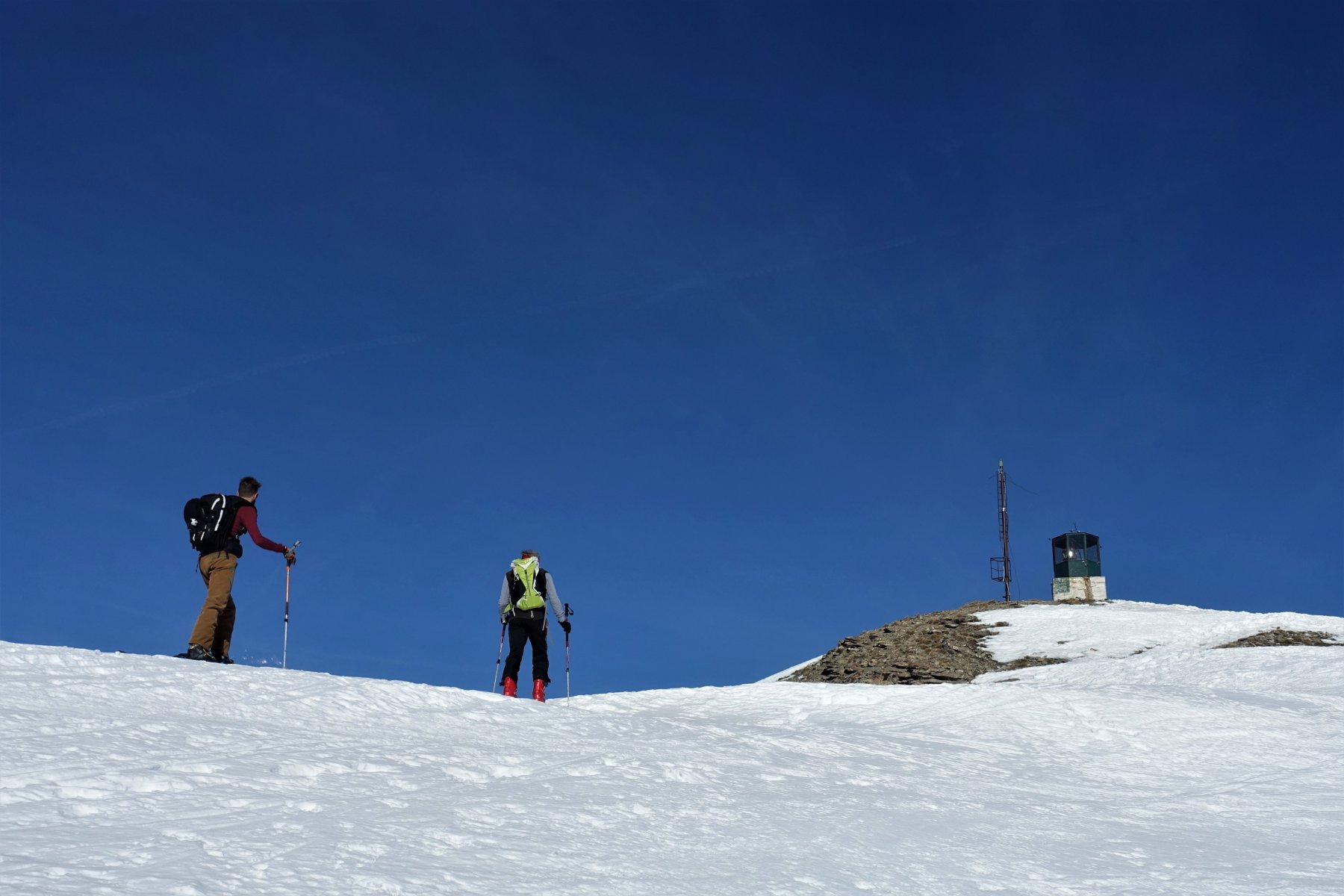 La cima del Genevris