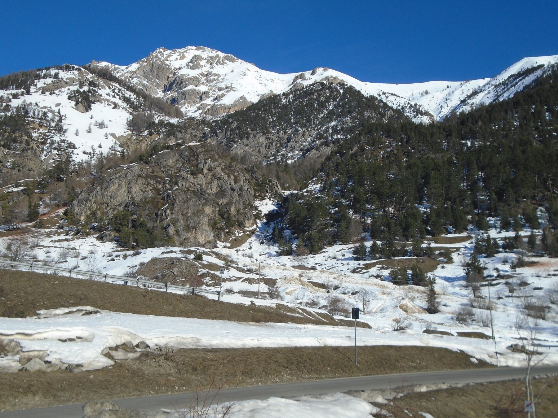 Ingresso della Valle Vicariotta visto dal posteggio