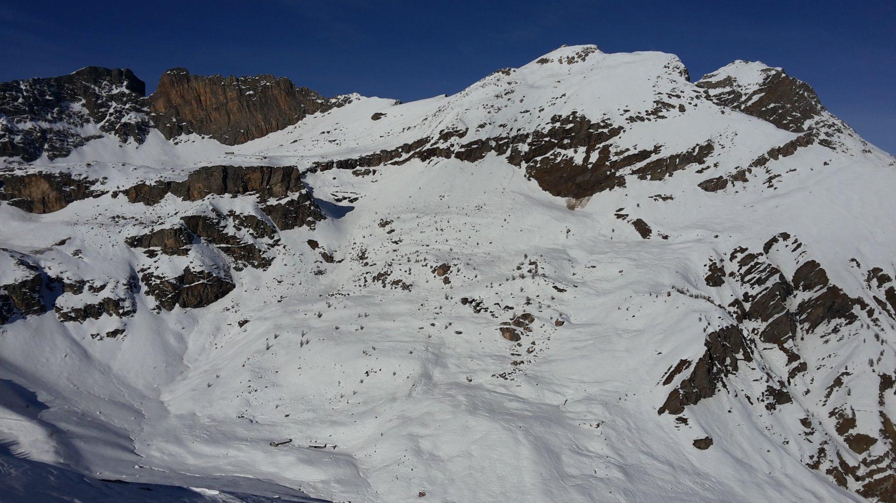 Sagneres, Rocca Gialeo e Monte Camoscere