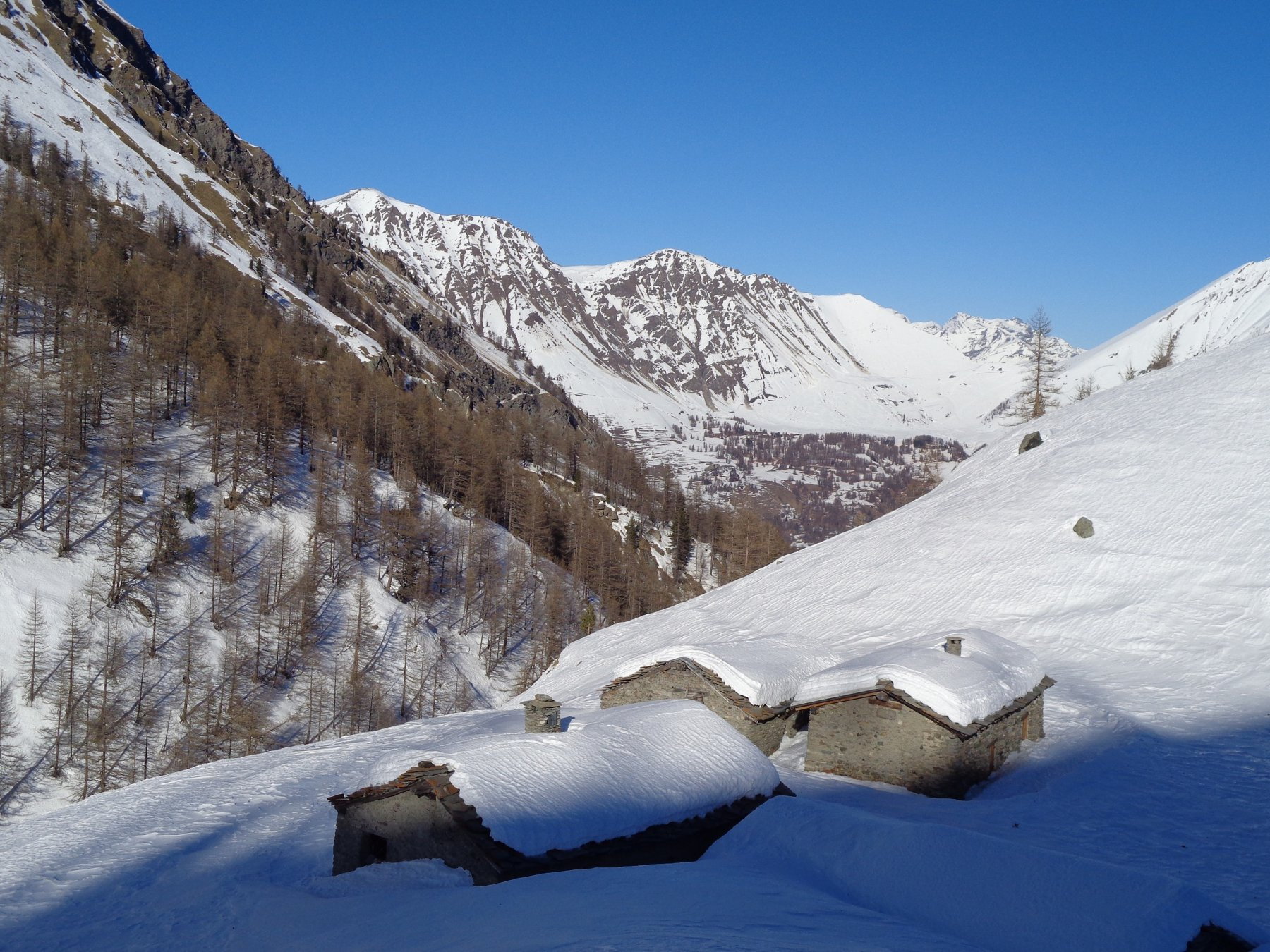 Bergerie dell'Albergian e zona Ciantiplagna-Fattiere