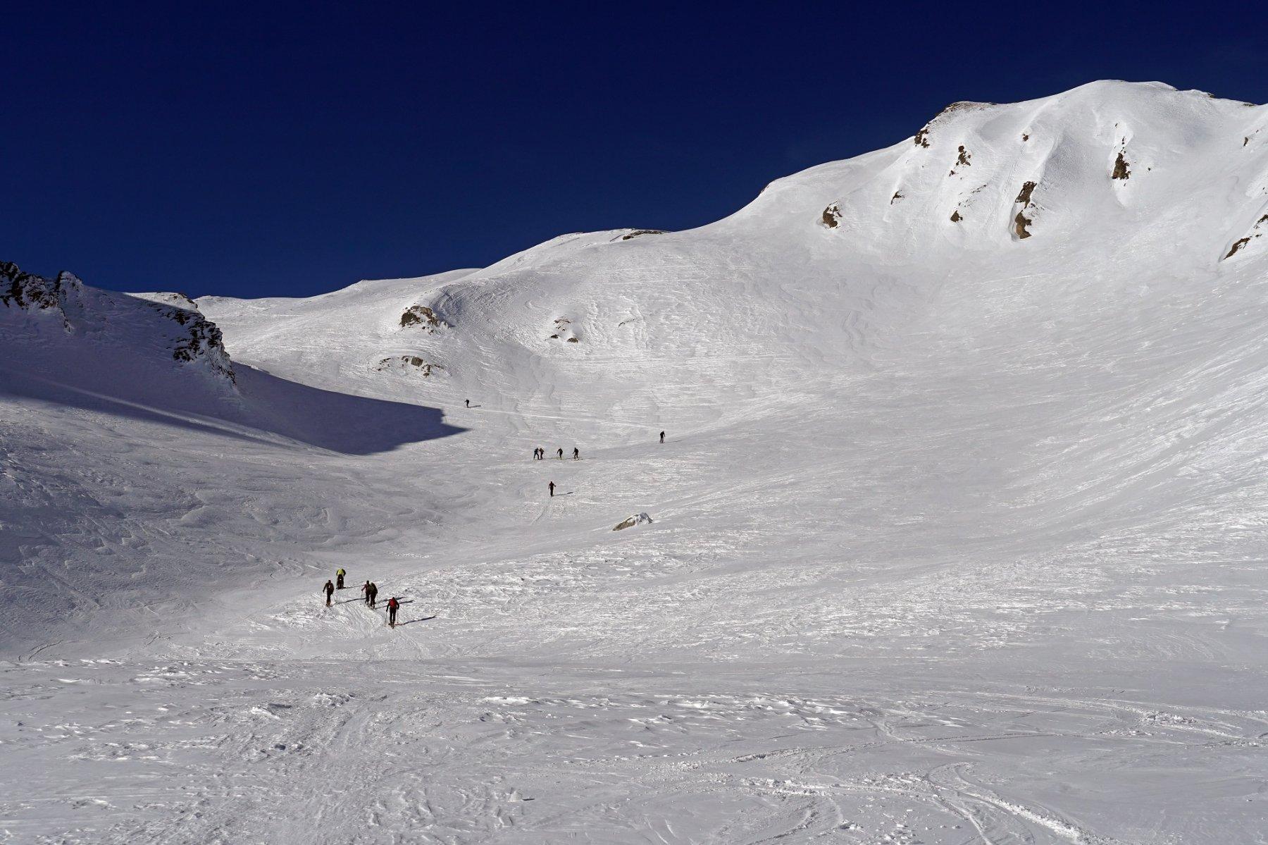 Parte intermedia del vallone dopo il Bouau