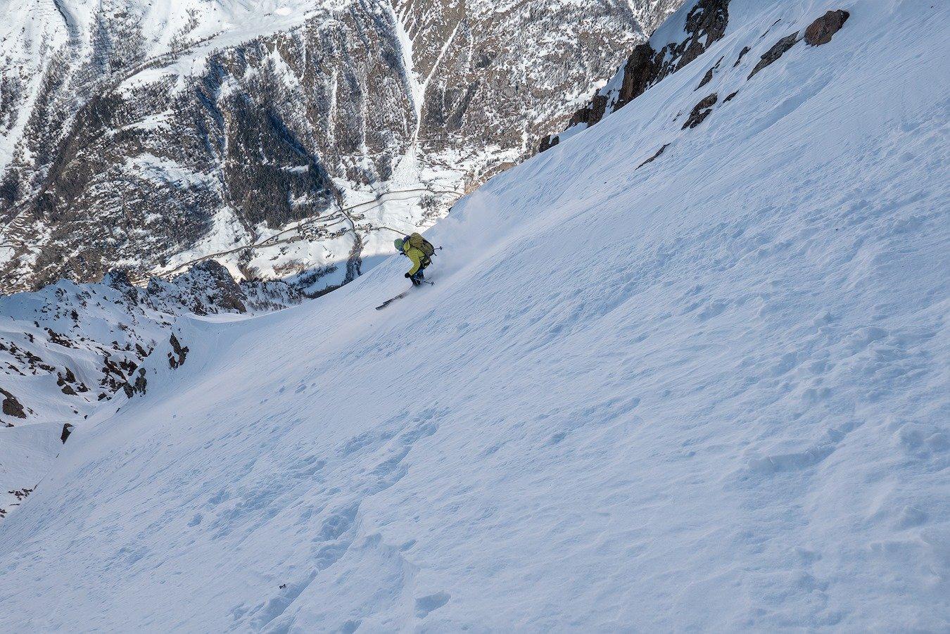 Invergnaou (Becca d') cima Ovest versante NO 2020-01-11
